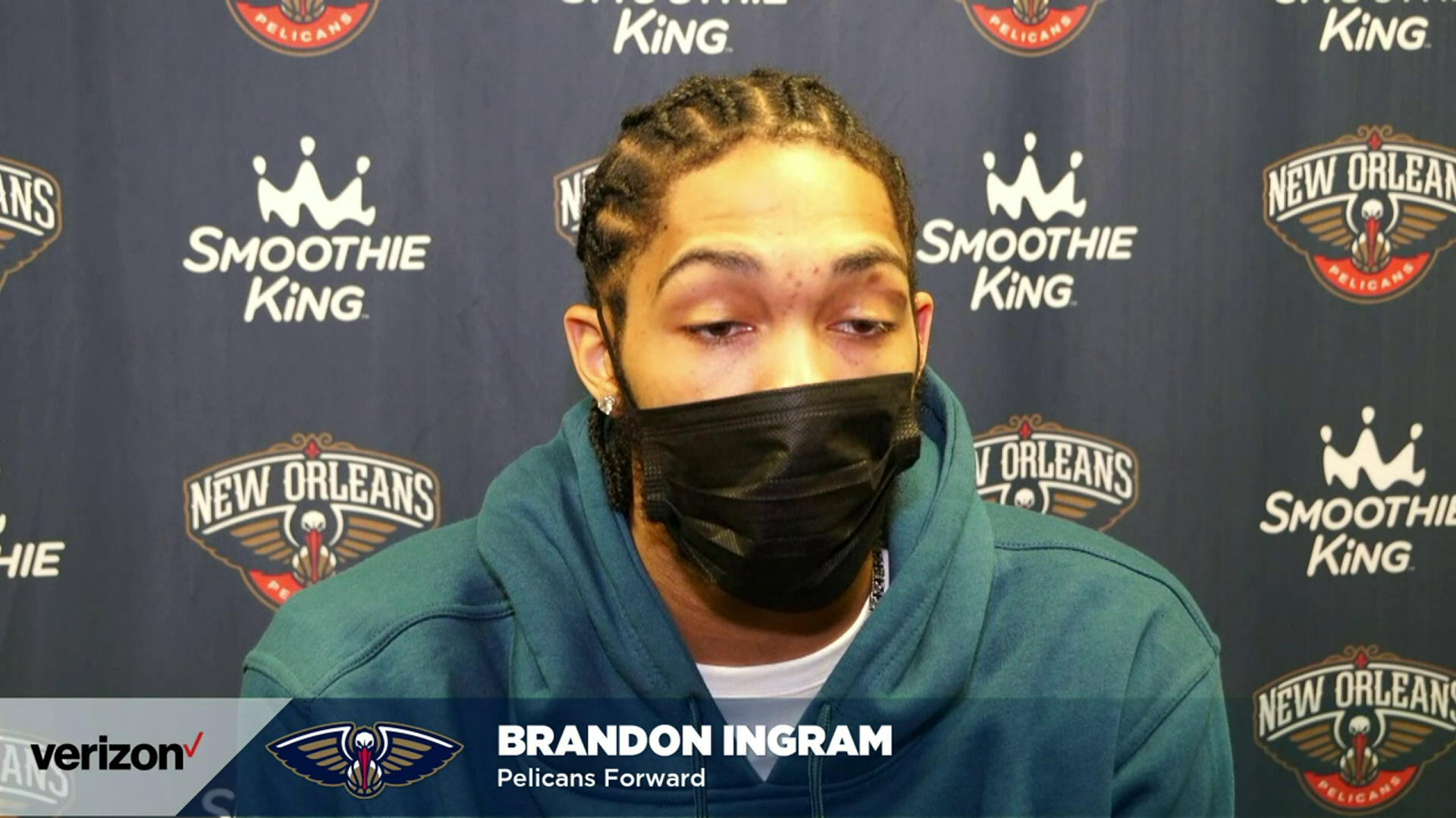 Pelicans-Spurs Postgame: Brandon Ingram 2-27-21