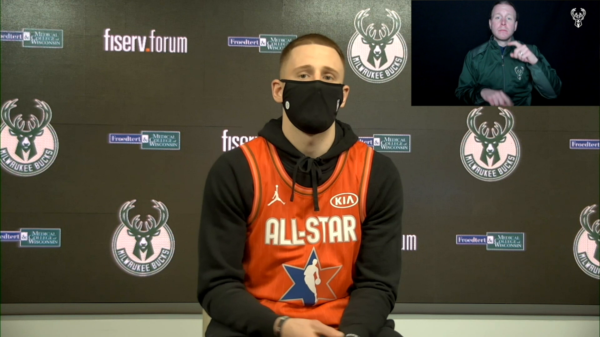 Donte DiVincenzo ASL Press Conference | 2.25.21