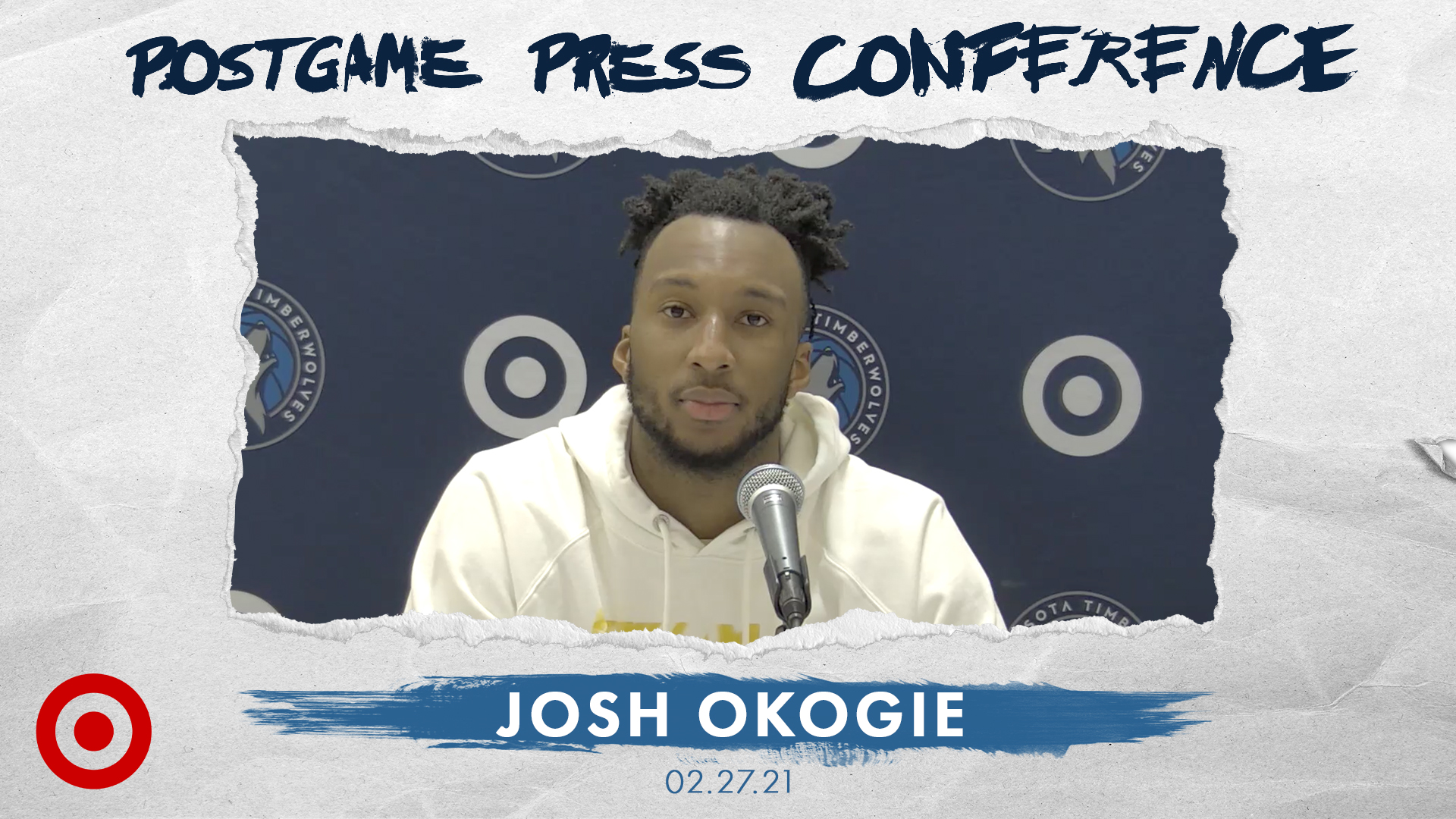 Josh Okogie Postgame Press Conference - February 27, 2021