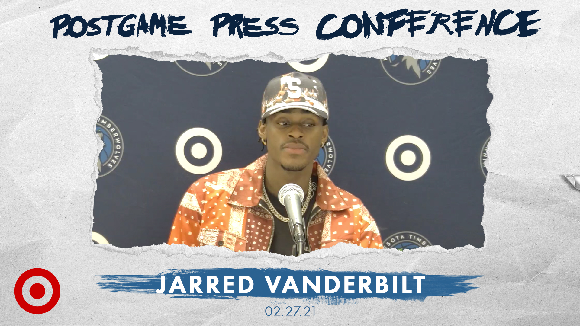 Jarred Vanderbilt Postgame Press Conference - February 27, 2021