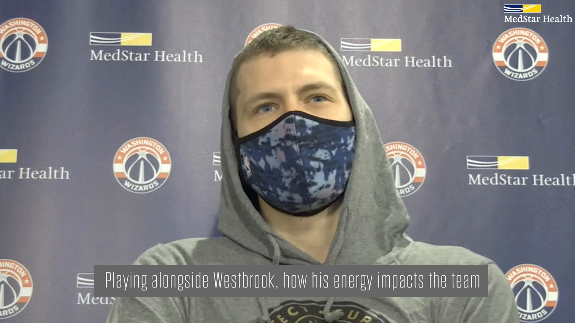 Moe Wagner Post-Practice Media Availability - 2/1/21