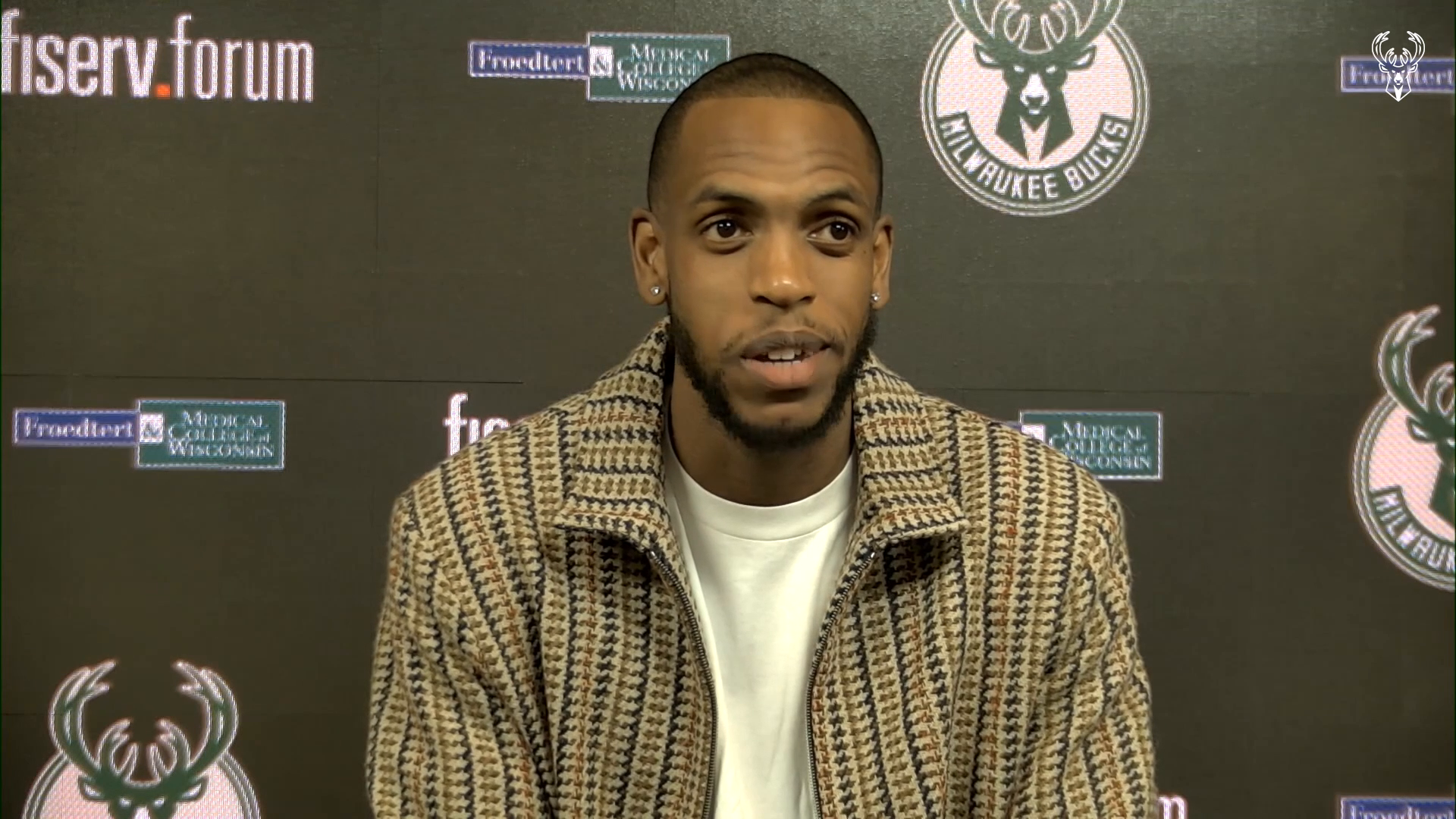 Khris Middleton Press Conference | 2.28.21