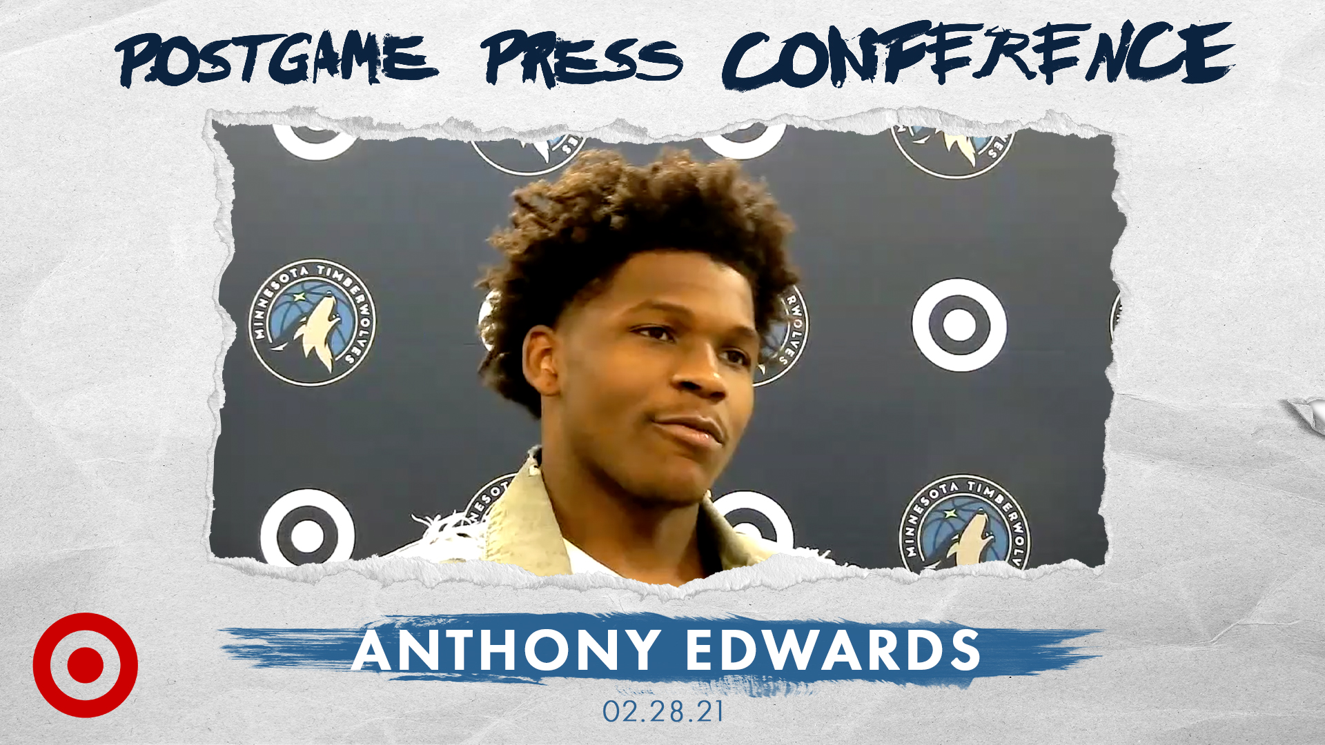 Anthony Edwards Postgame Press Conference - February 28, 2021