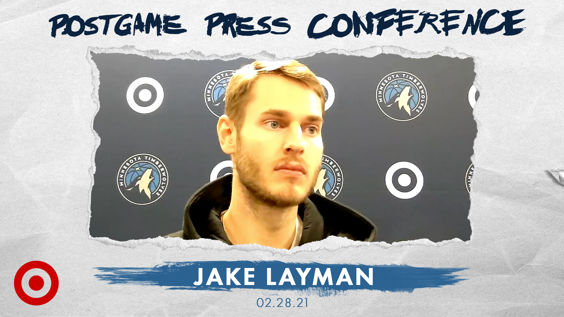 Jake Layman Postgame Press Conference - February 28, 2021