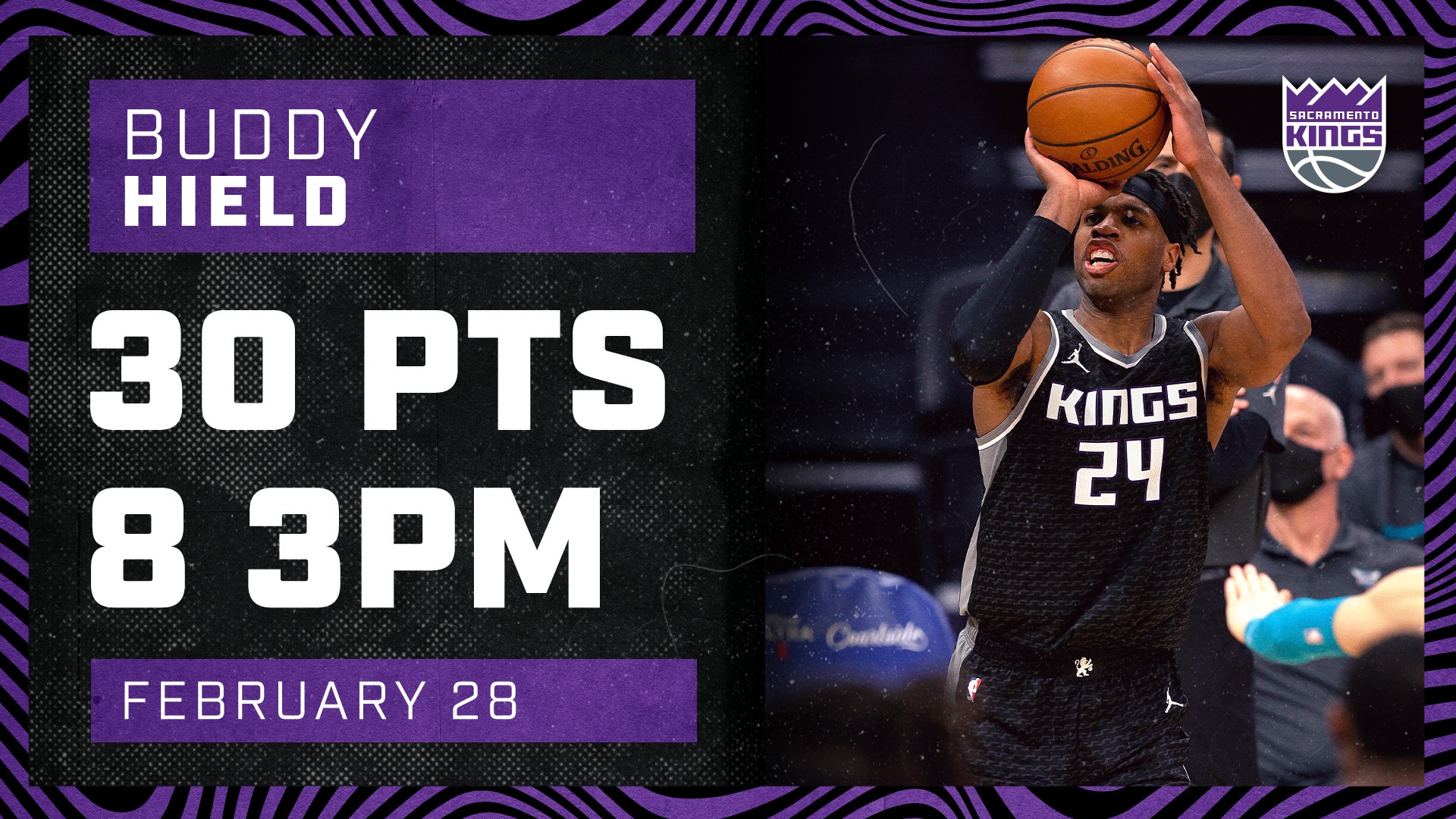 Buddy Made NBA HISTORY vs Charlotte | Kings vs Hornets 2.28.21