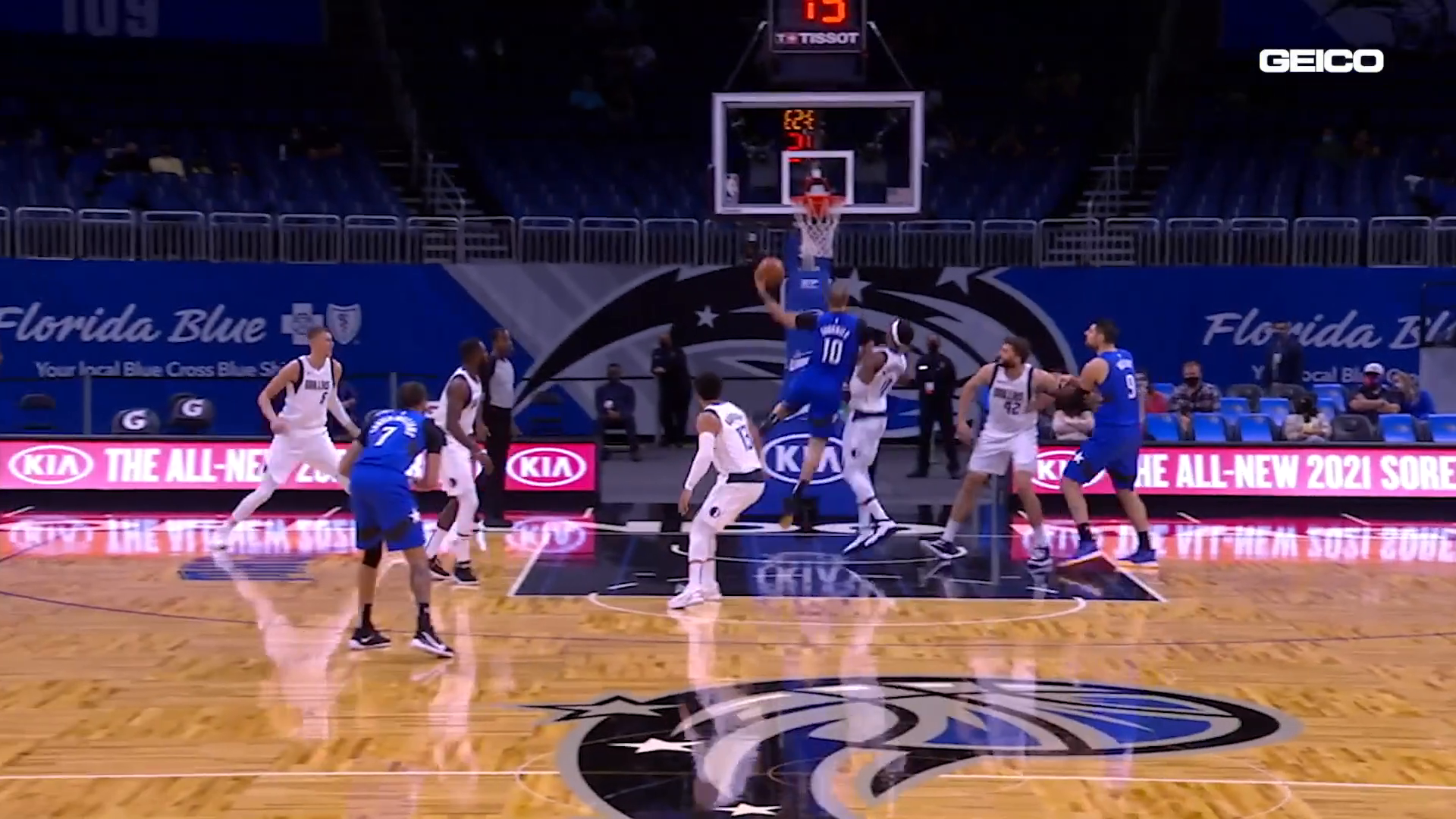 Game Highlights: Magic vs. Mavs