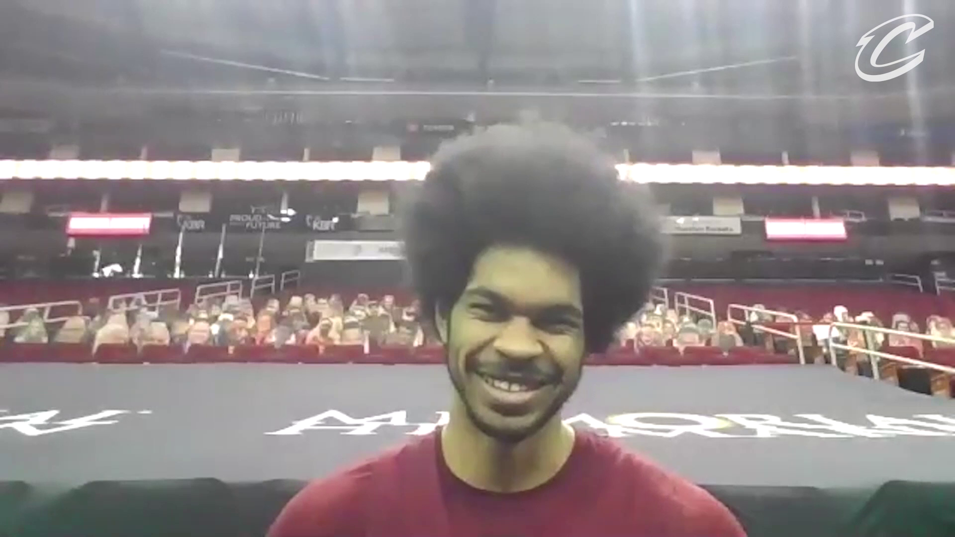 Cavs at Rockets Shootaround: Jarrett Allen