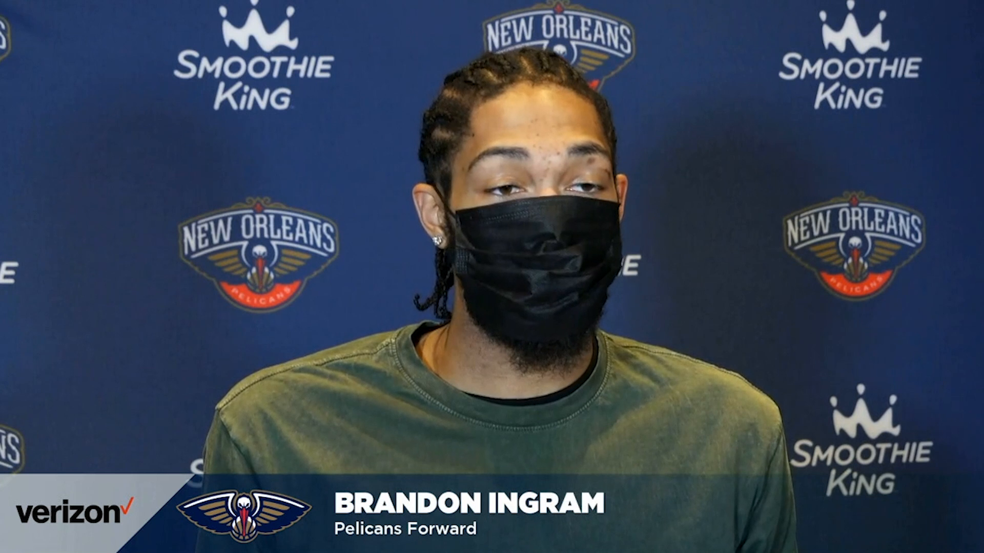 Pelicans-Jazz Postgame: Brandon Ingram 3-1-2021