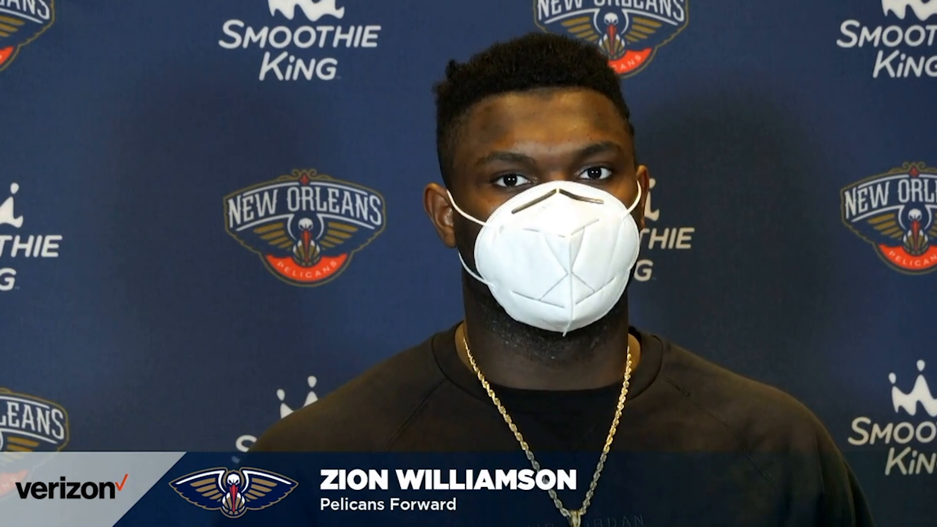 Pelicans-Jazz Postgame: Zion Williamson 3-1-2021