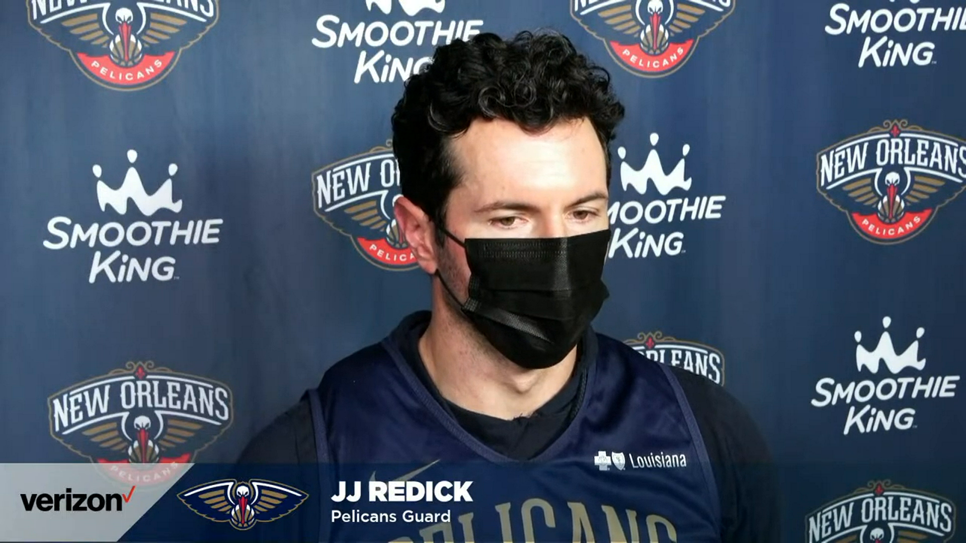 JJ Redick on Zion Williamson, last night's performance vs. the Jazz | Pelicans Post-Practice 3/2/21