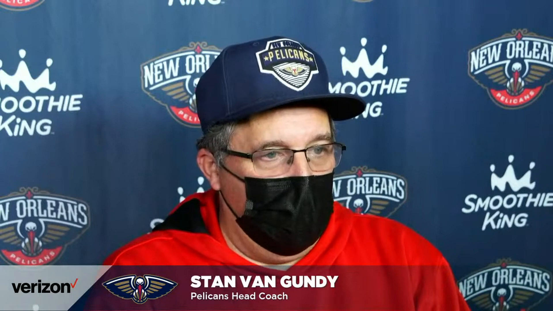 Stan Van Gundy talks playing at a consistent level and improving defensively | Pelicans Post-Practice 3/2/21