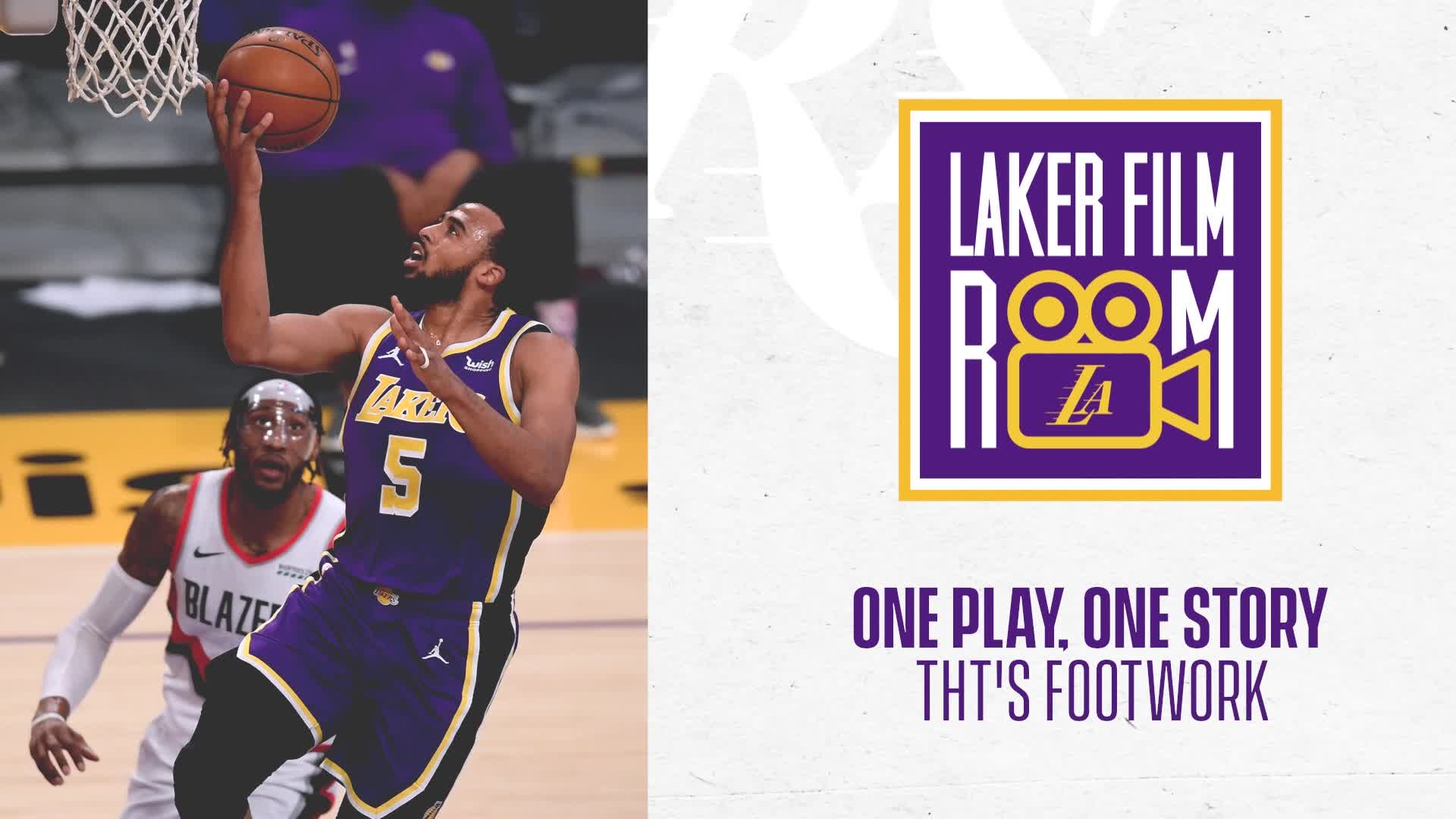 Laker Film Room: One Play, One Story - THT's Footwork