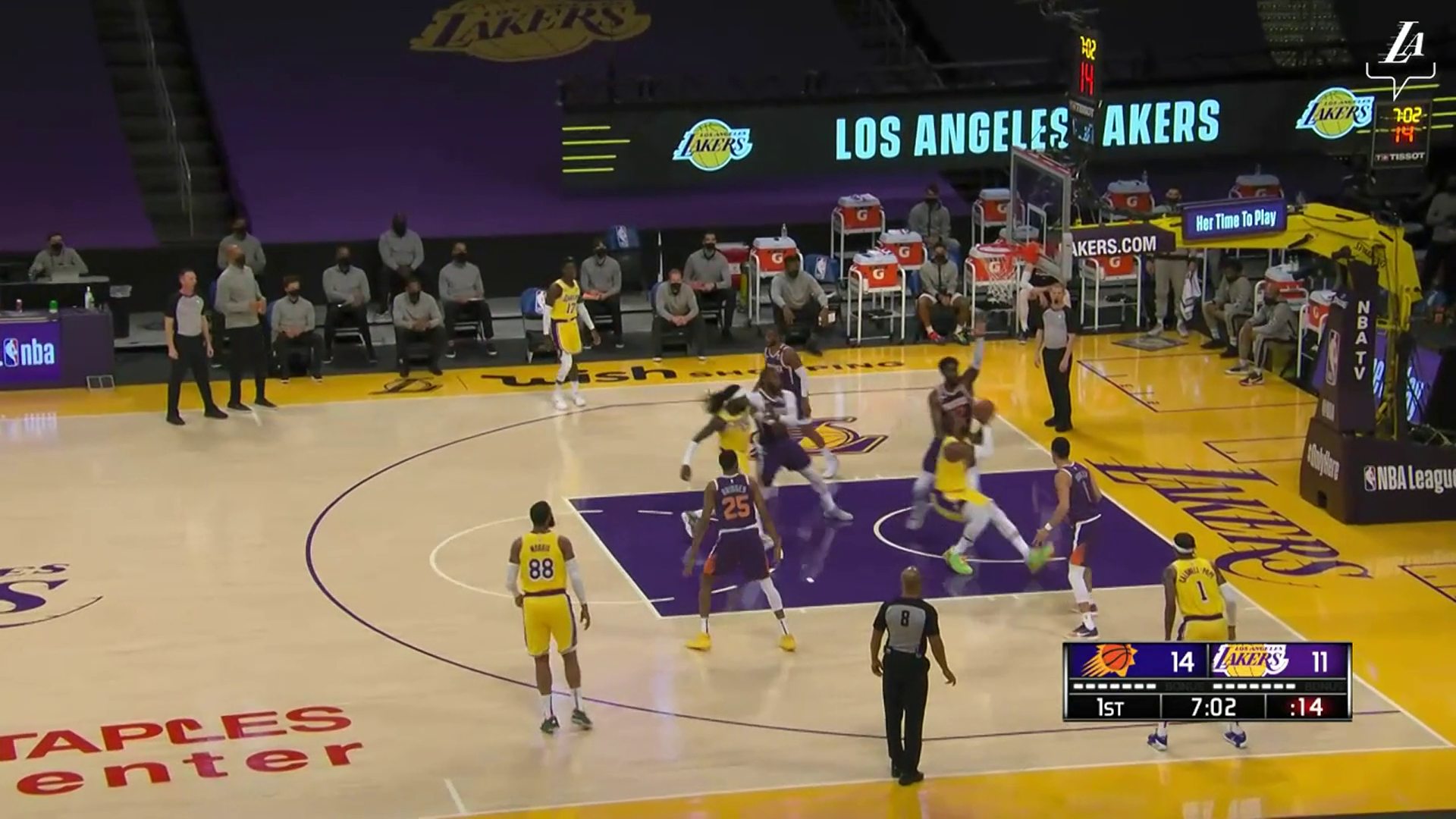 HIGHLIGHTS | Los Angeles Lakers vs Phoenix Suns