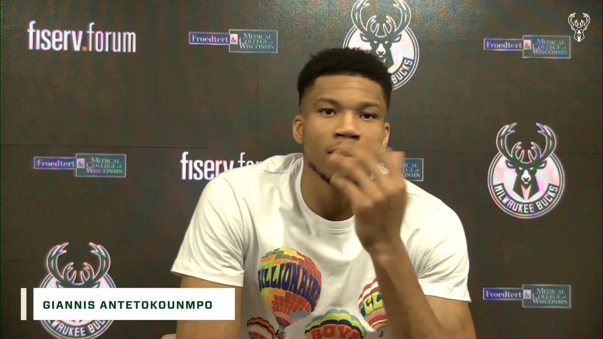 Giannis Antetokounmpo Press Conference | 3.2.21