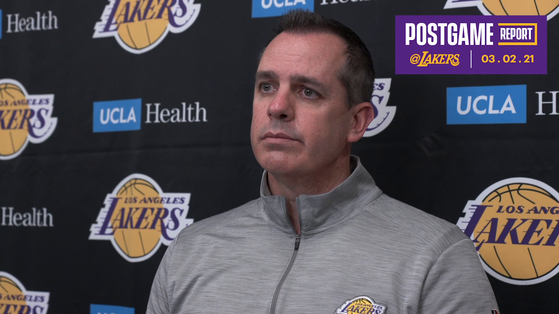 Lakers Postgame: Frank Vogel (3/2/21)