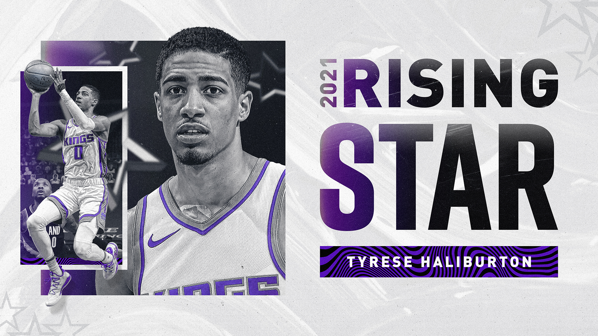 Tyrese Haliburton Named 2021 NBA Rising Star!