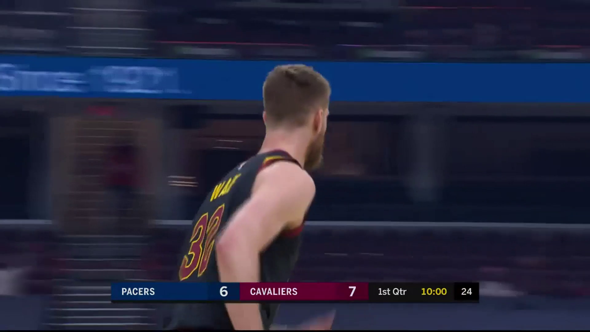 Wade with a Pair of Early Triples