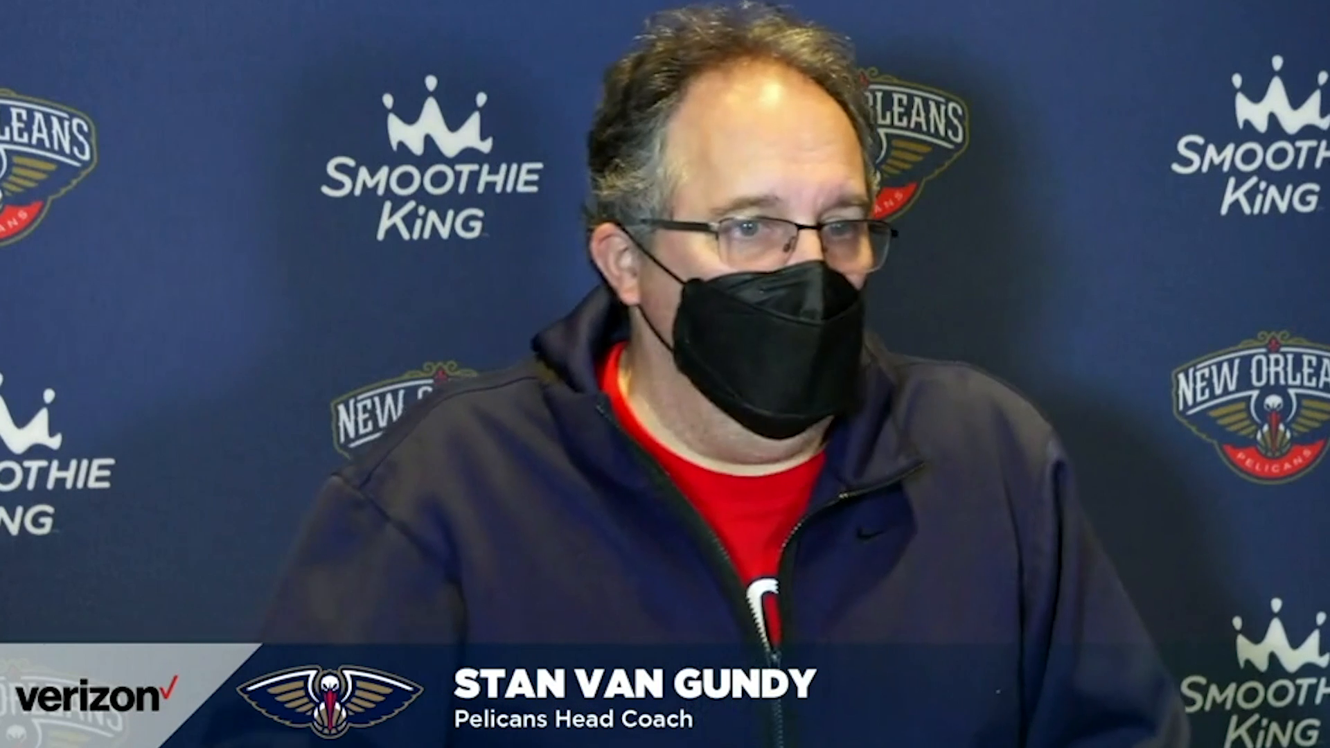 Pelicans-Bulls Postgame Interview: Stan Van Gundy 3-3-21