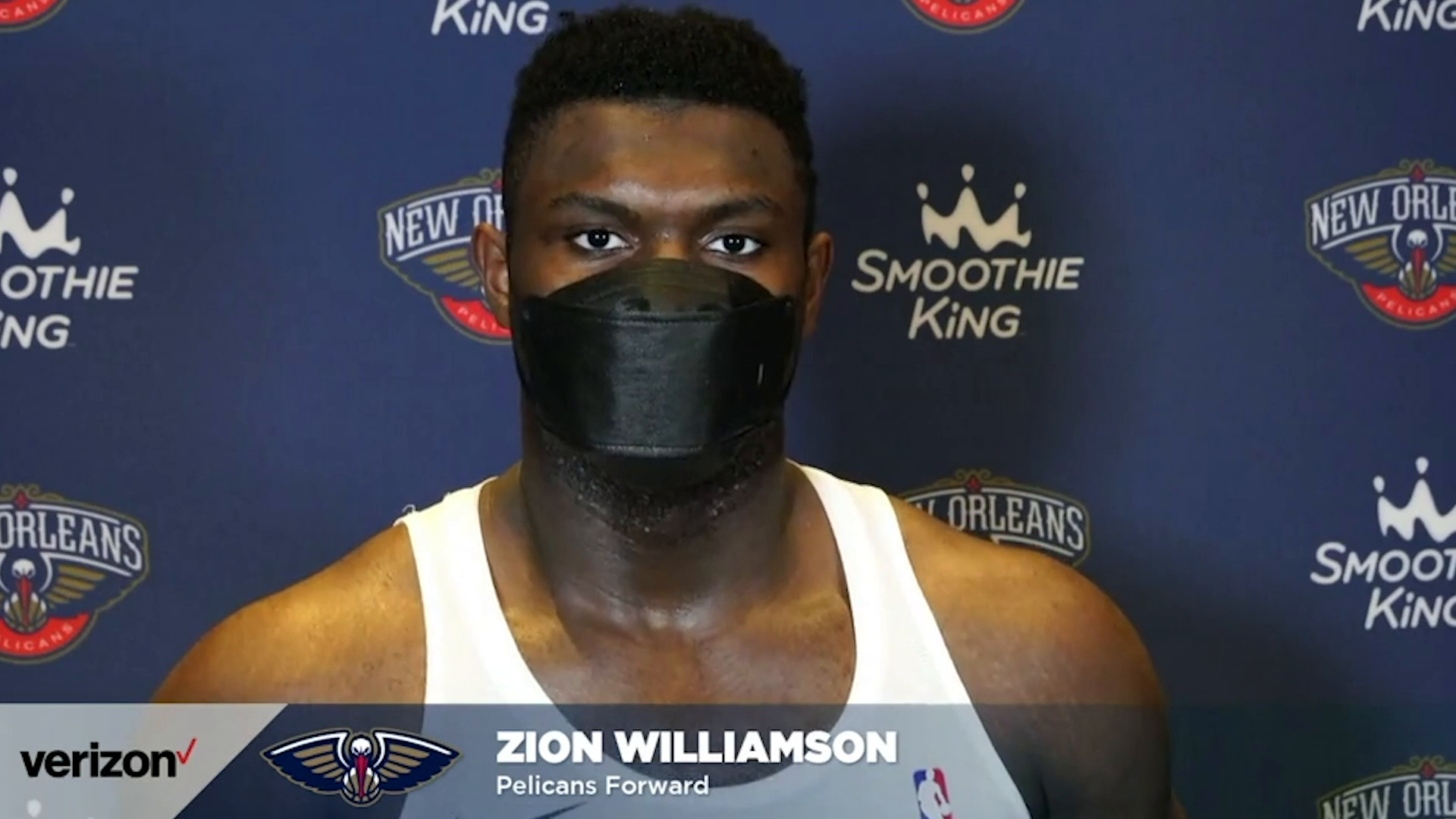 Pelicans-Bulls Postgame Interview: Zion Williamson 3-3-21
