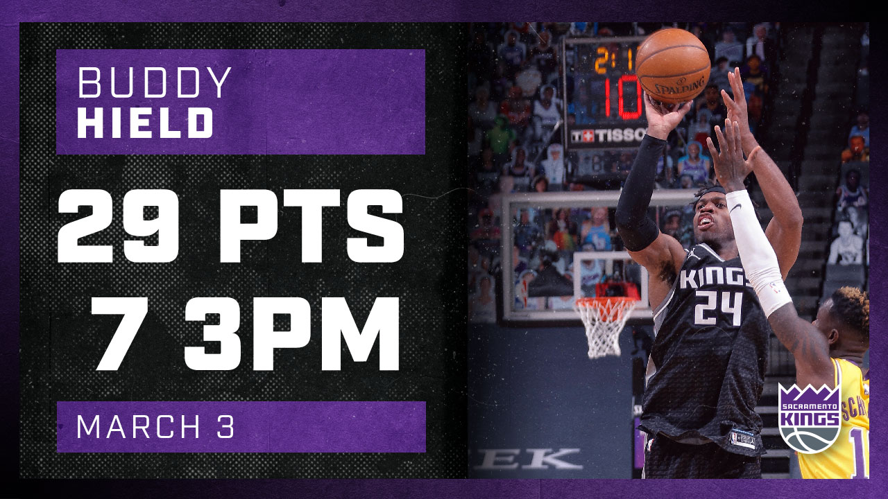 Buddy Stays Hot with 29 Points against Lakers! | Kings vs Lakers 3.3.21