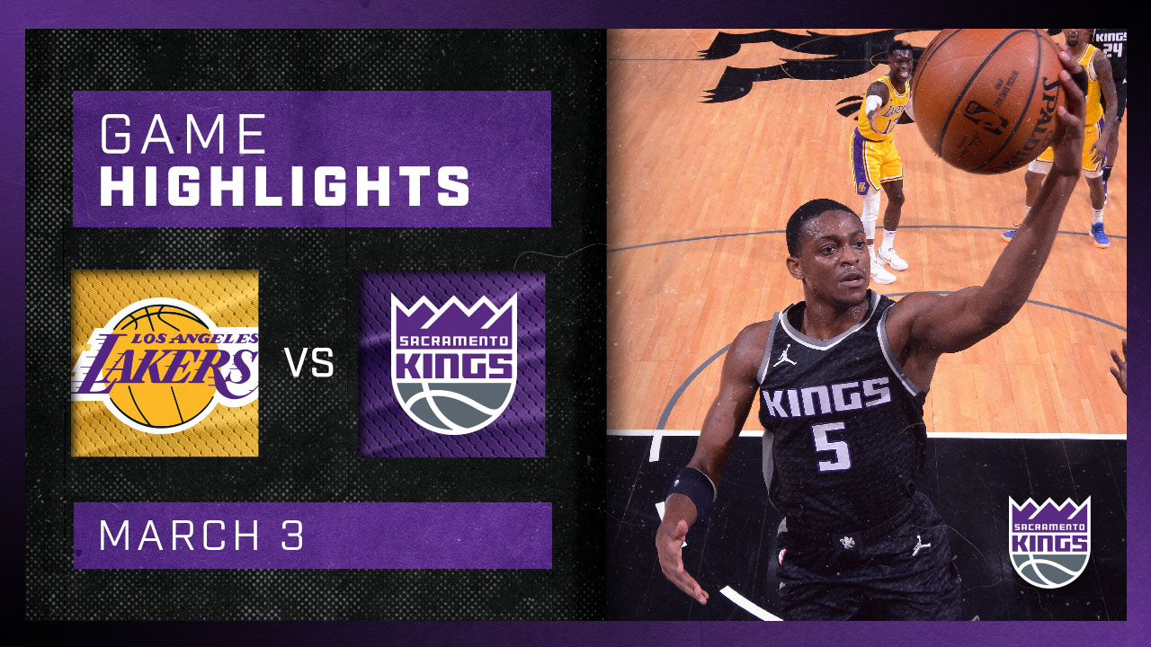 Kings Hold on and BEAT LA at Home | Kings vs Lakers 3.3.21