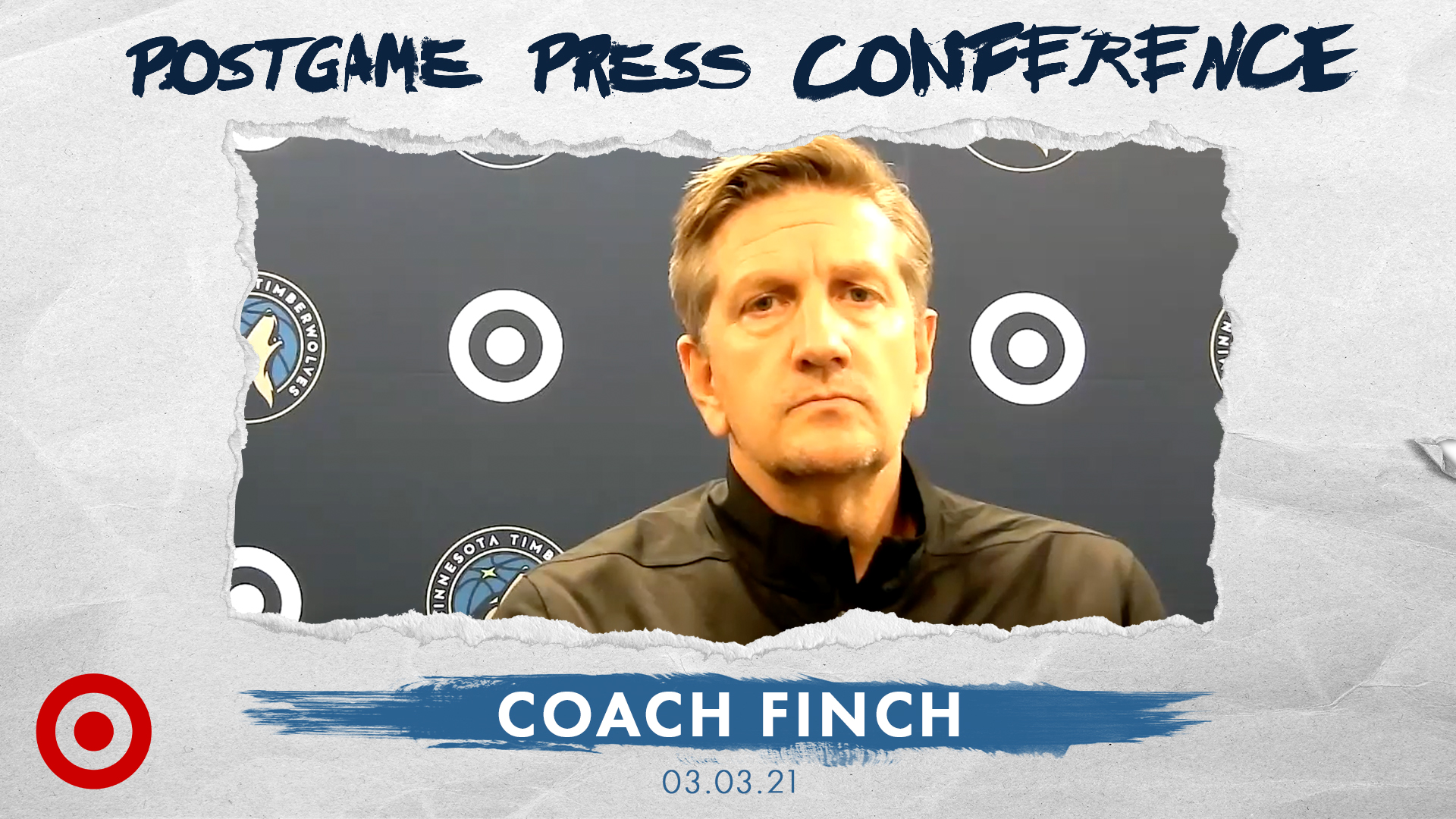 Coach Finch Postgame Press Conference - March 3, 2021