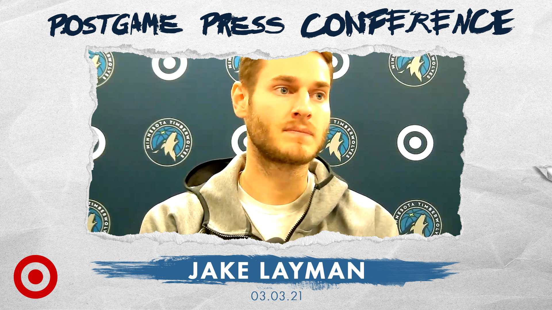 Jake Layman Postgame Press Conference - March 3, 2021