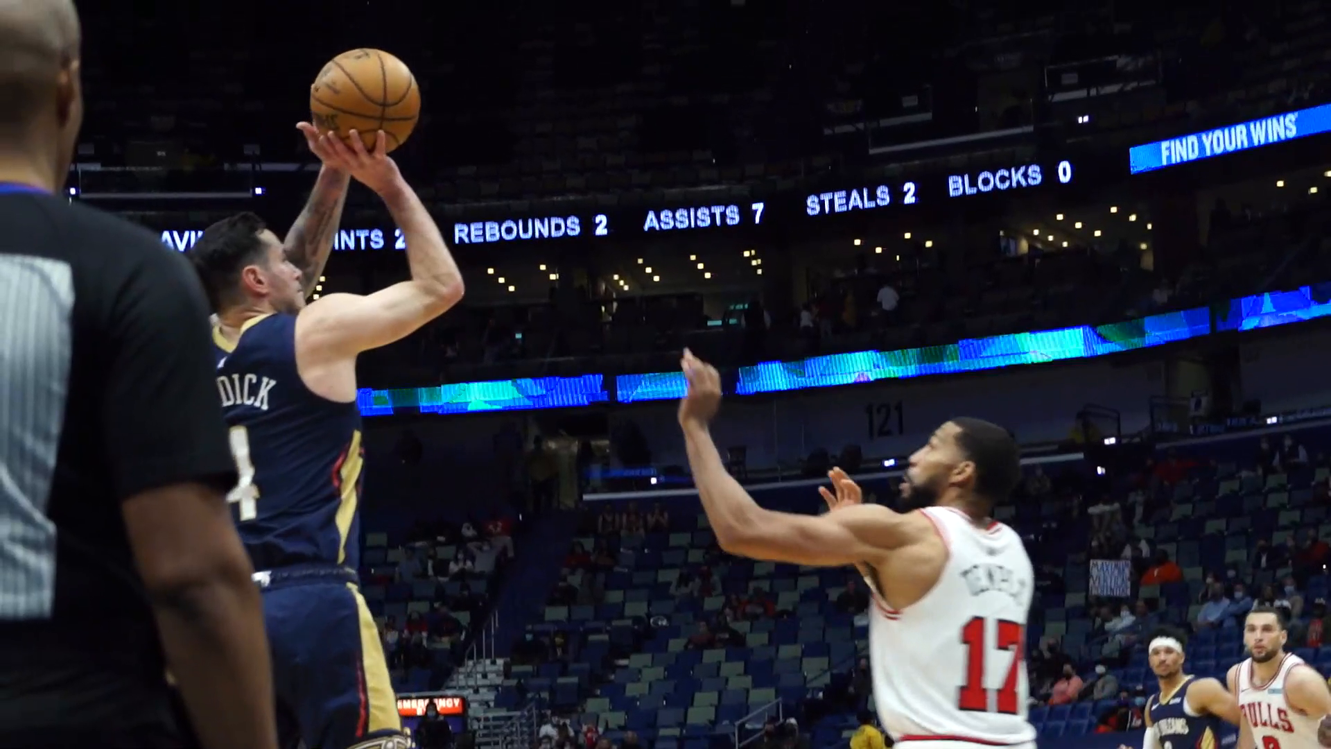 Pelicans vs. Bulls Slo-Mo Highlights 3/3/21