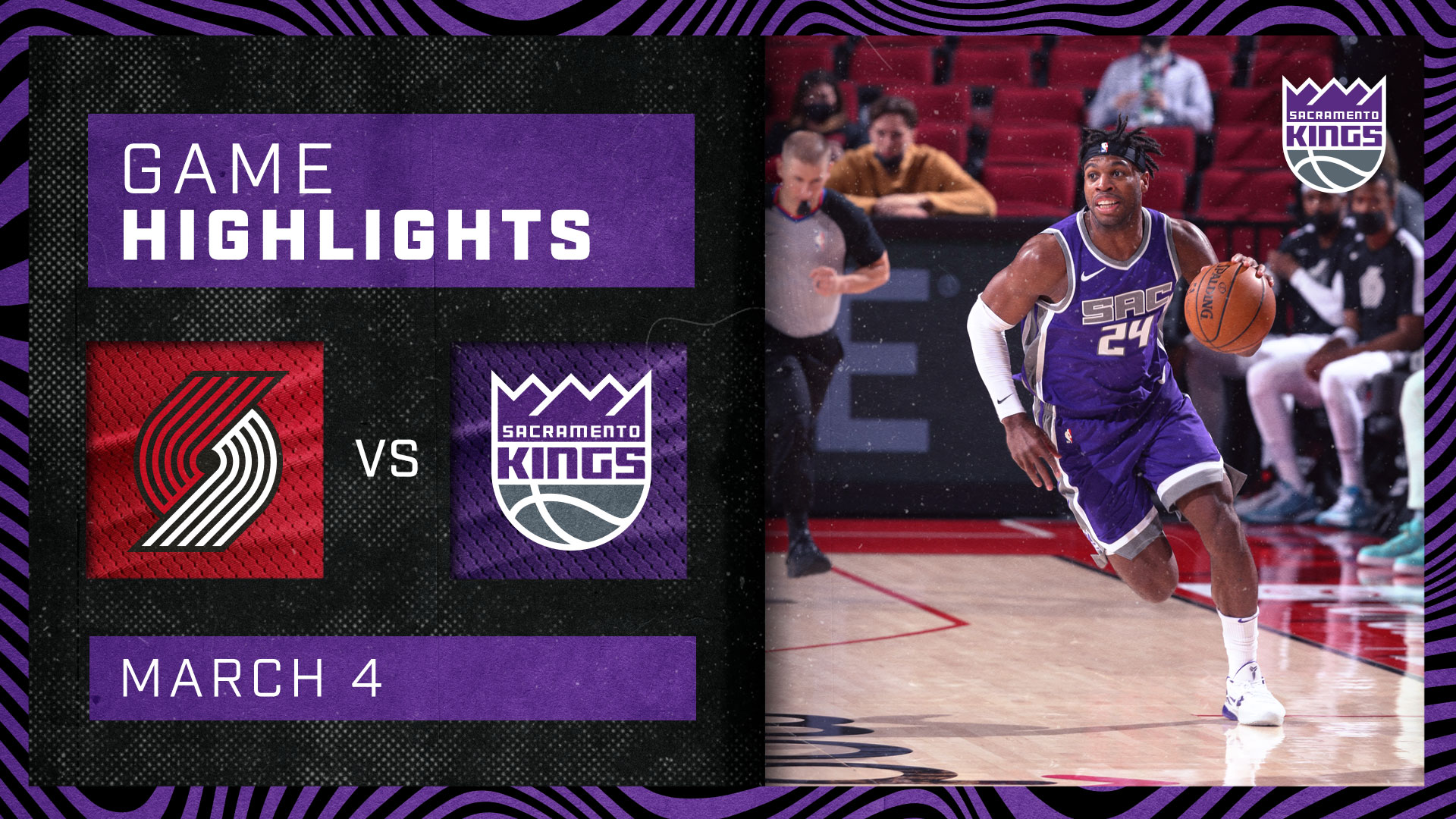 Kings Battle Blazers Down to the Wire | Kings vs Blazers 3.4.21