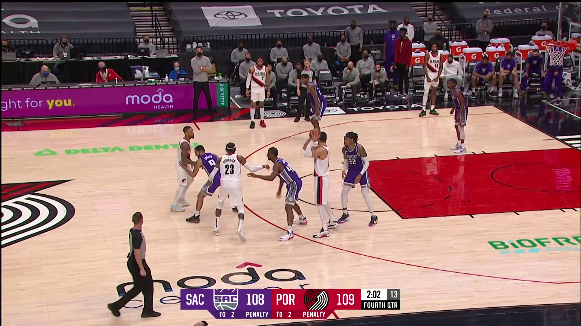 Trail Blazers 123, Kings 119 | Game Highlights by McDelivery