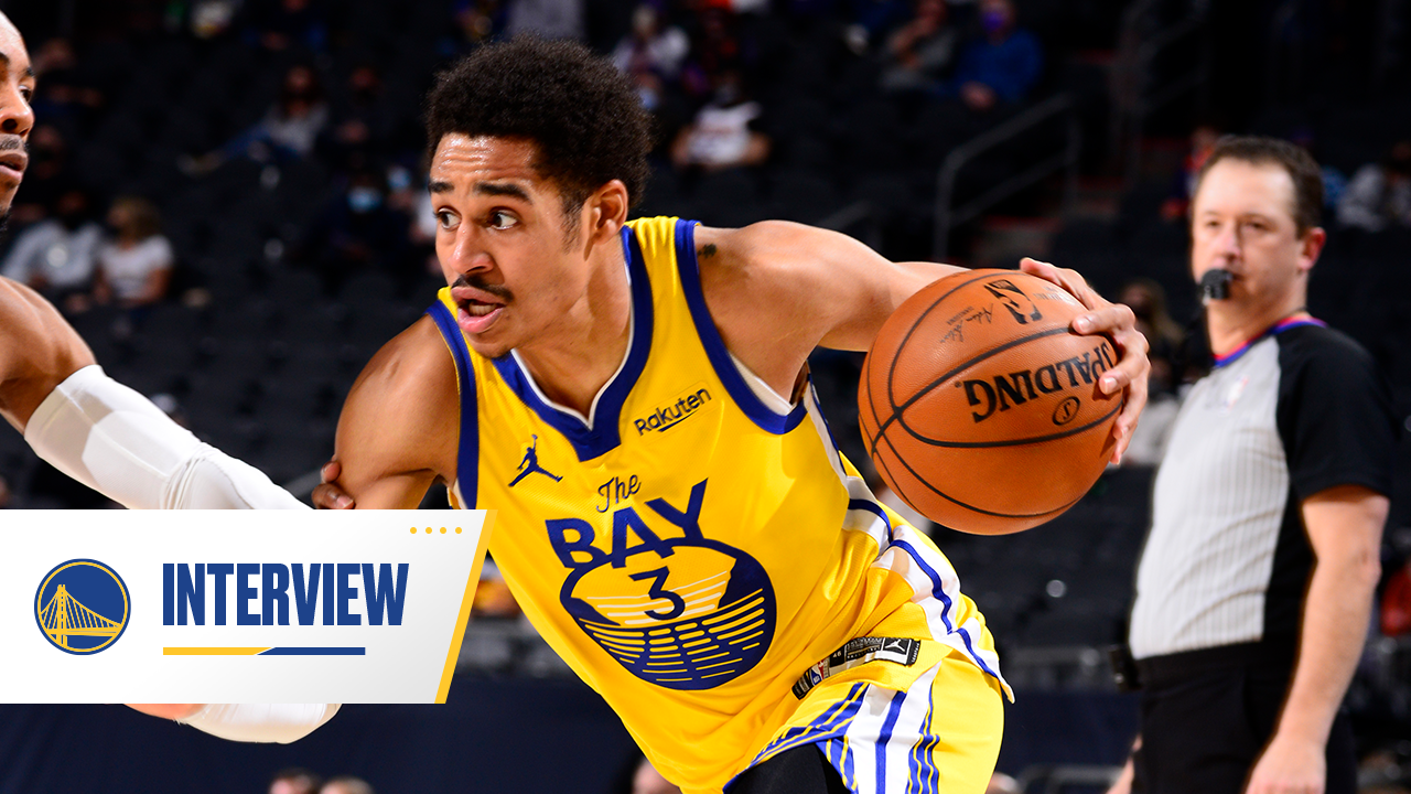 Postgame Warriors Talk: Jordan Poole - 3/4/21