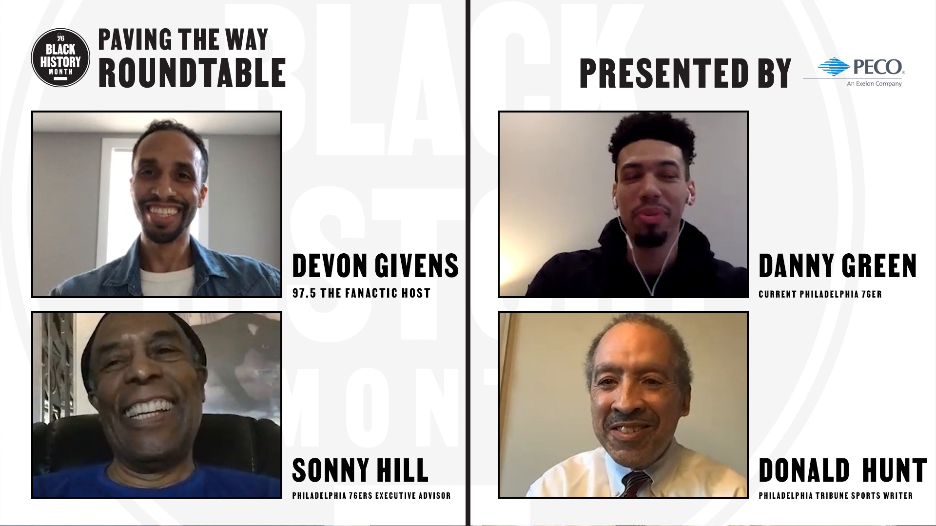 Paving the Way Roundtable | Philadelphia Black Basketball Pioneers