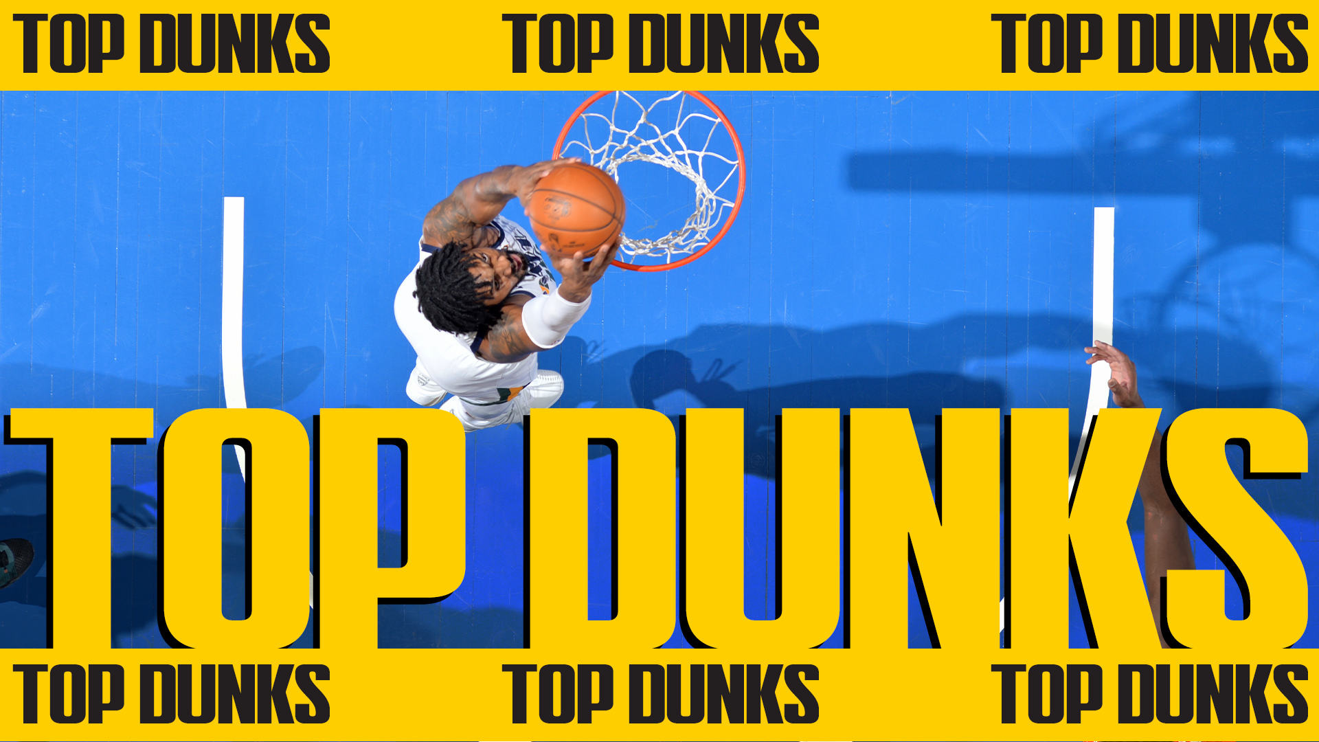 Spida gets up for the lob | #DunksOfTheWeek