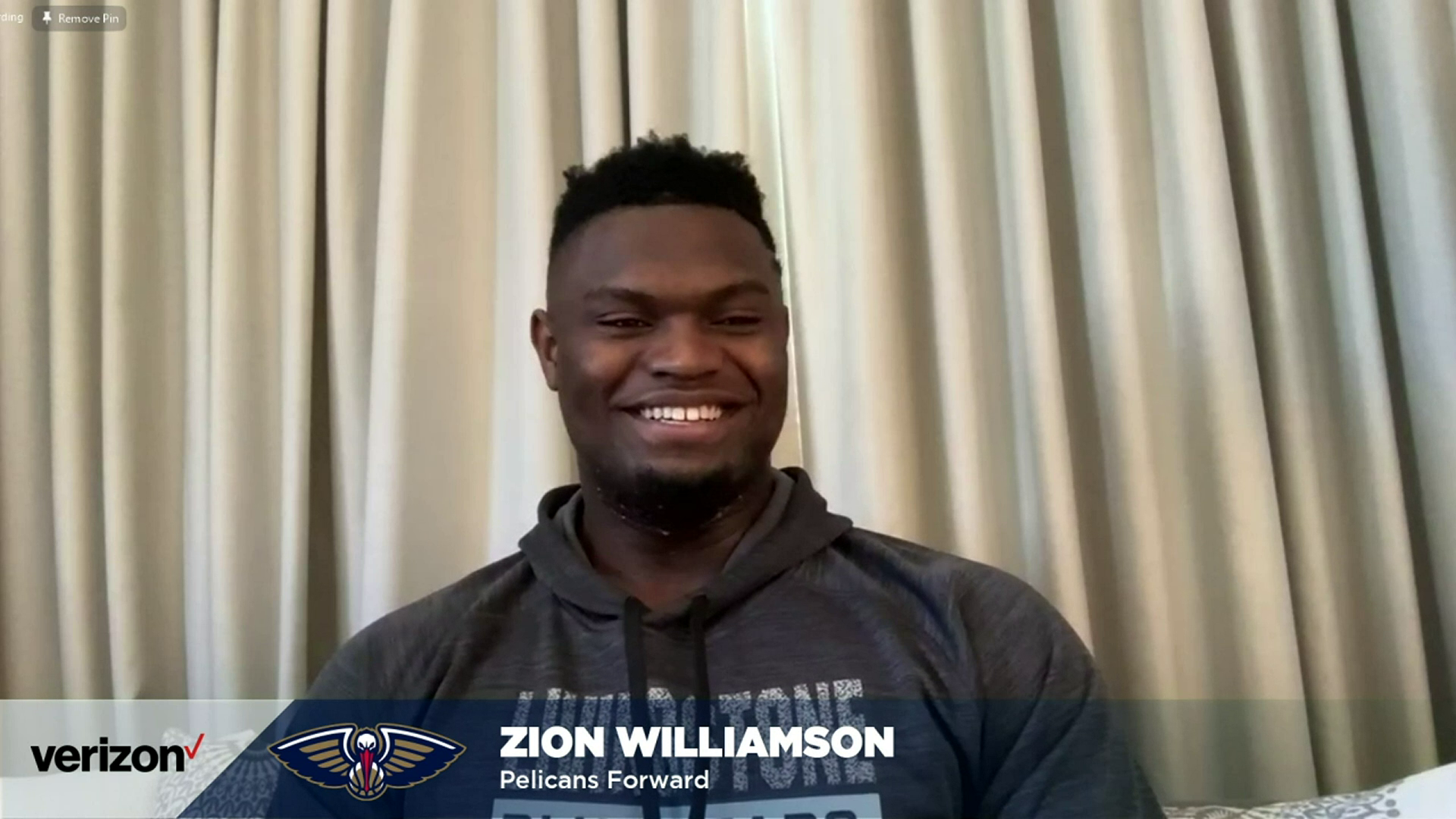 Zion Williamson talks best All-Star memories at 2021 NBA All-Star media availability