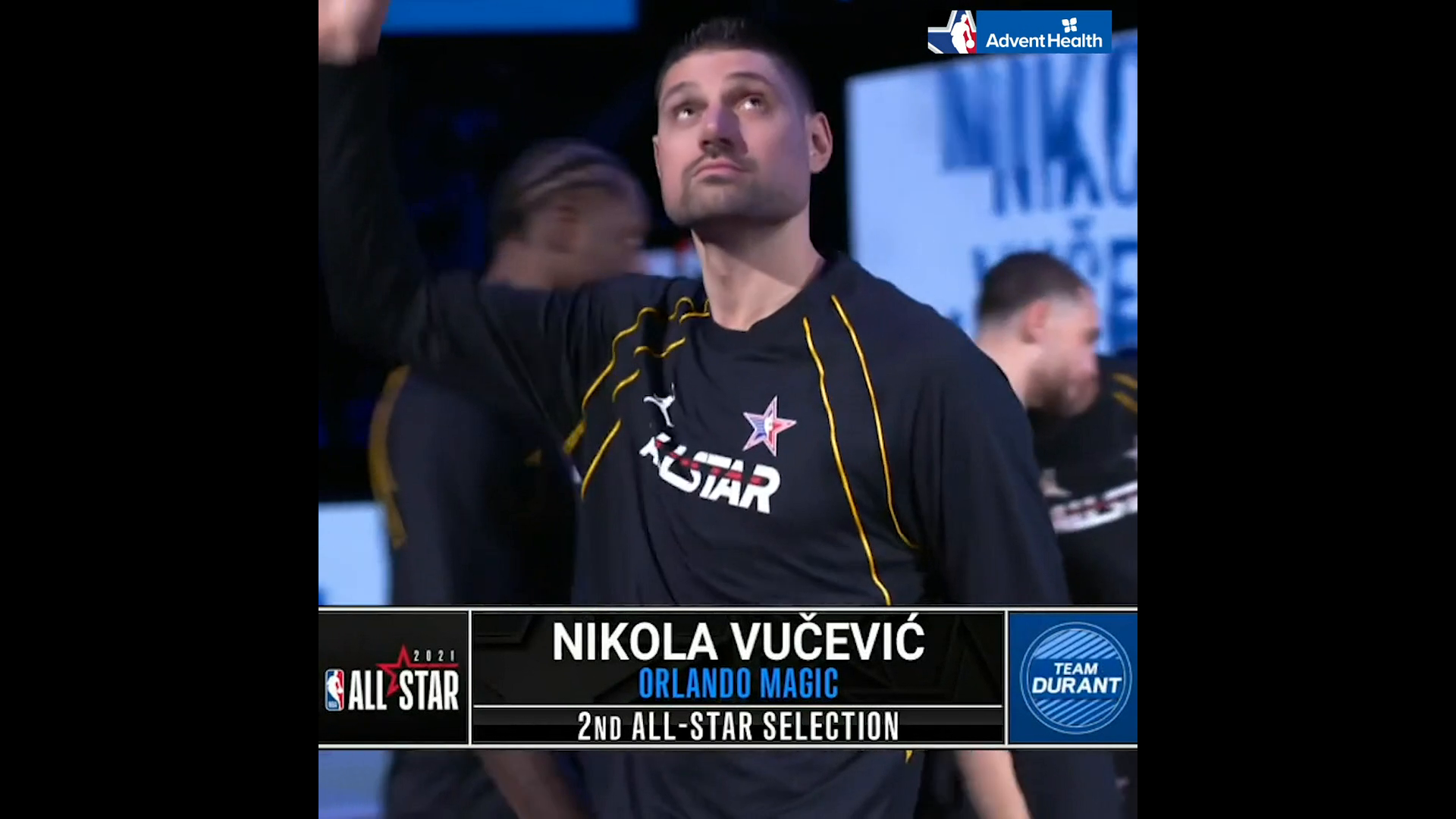 NBA All-Star Game Introductions: Nikola Vucevic