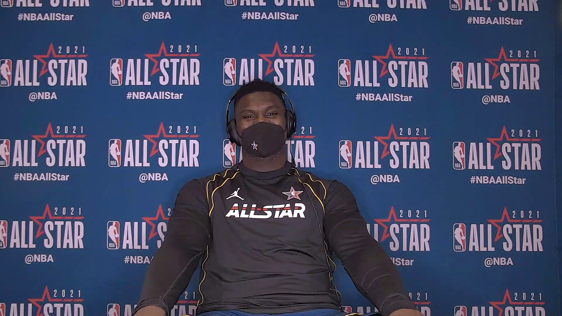 Zion Williamson talks about his first NBA All-Star Game experience | 2021 NBA All-Star