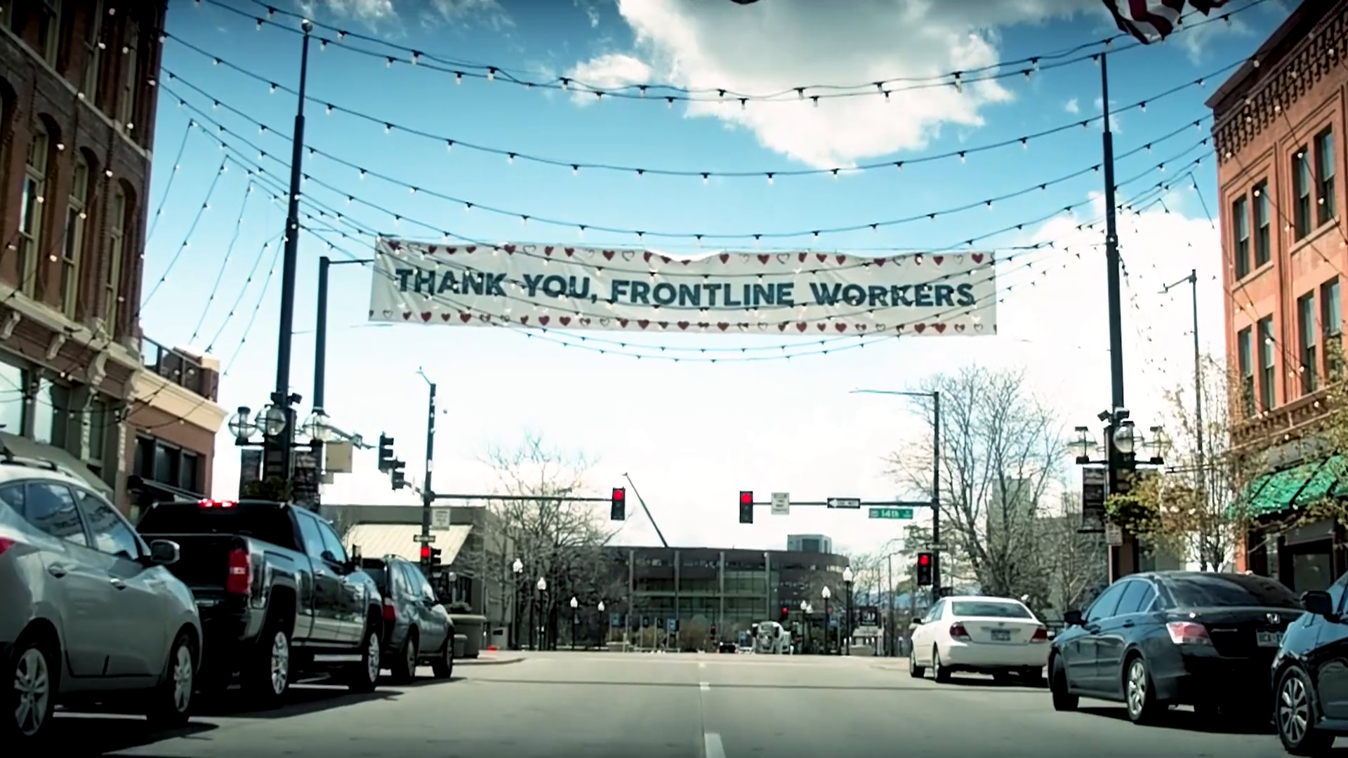Thank you frontline workers!
