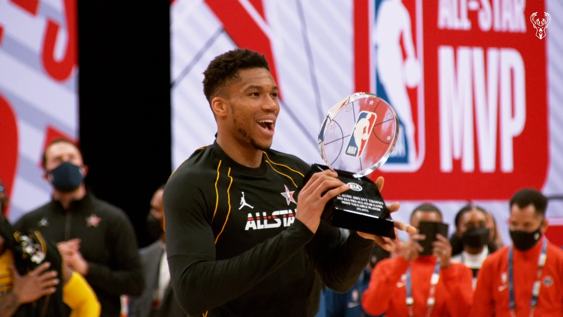 Best Of Phantom Cam: Giannis Antetokounmpo NBA All-Star MVP