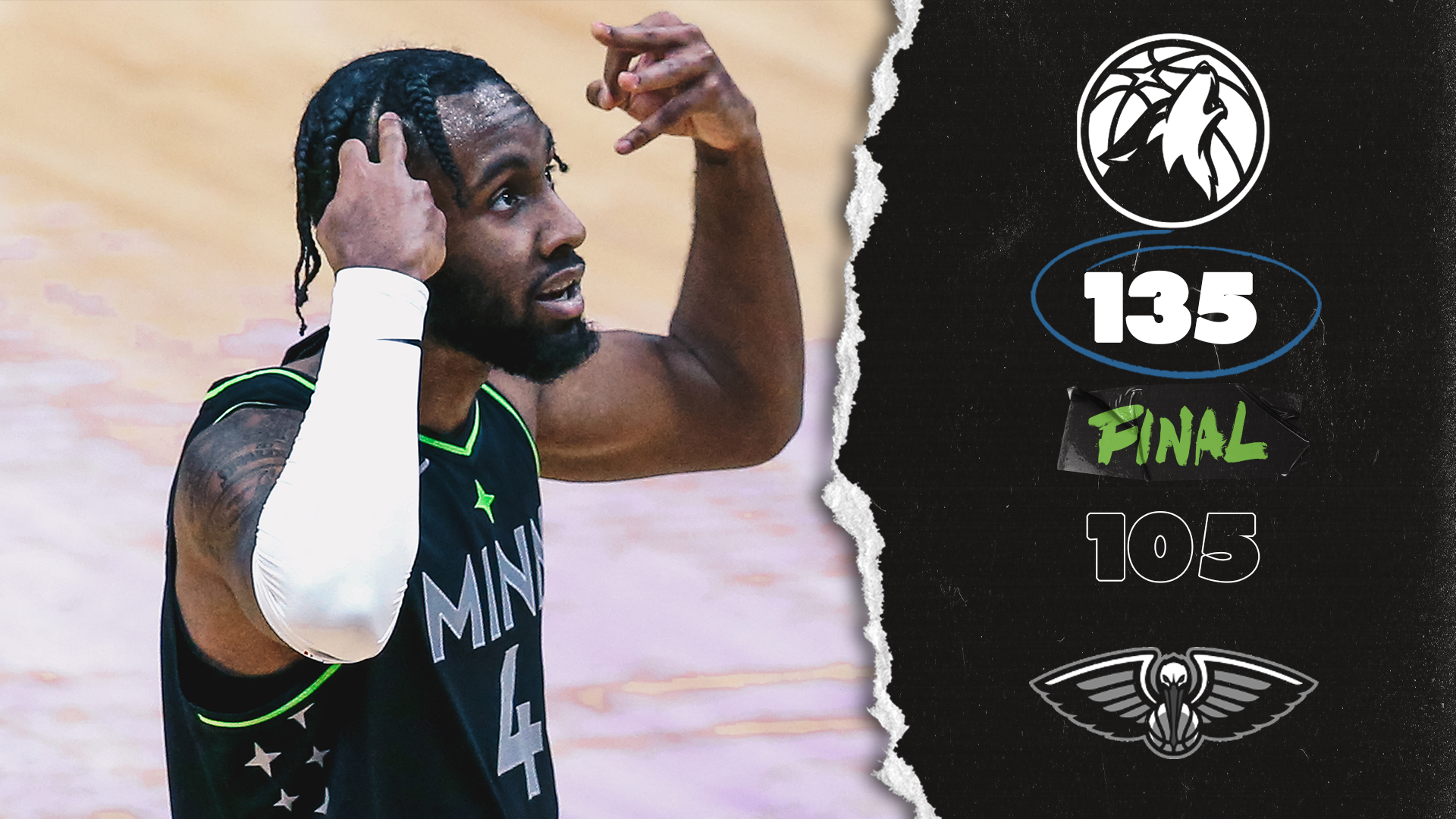 Highlights | Minnesota Timberwolves 135-105 New Orleans Pelicans - March 11, 2021