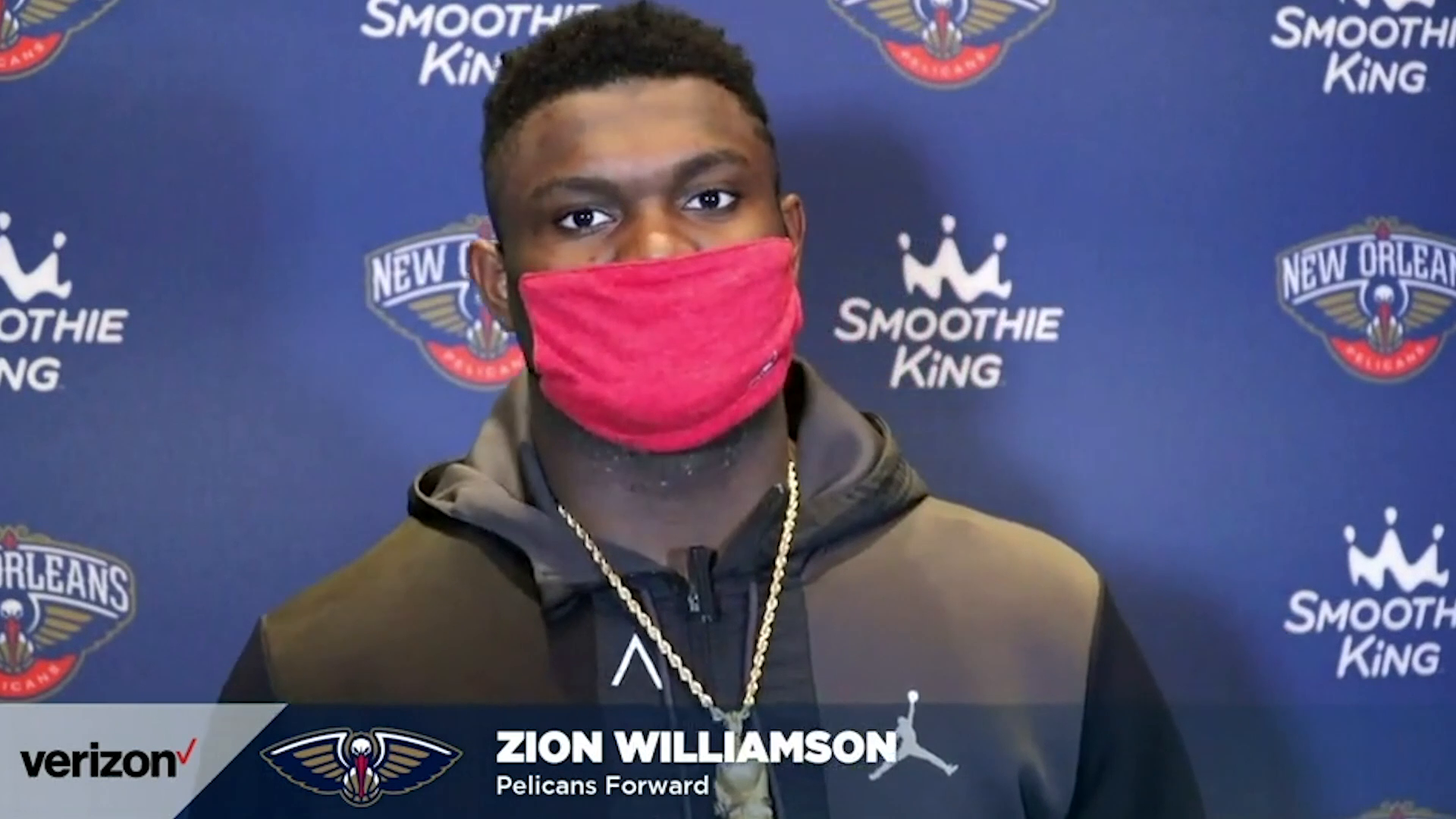 Pelicans-Timberwolves Postgame Interview: Zion Williamson 3-11-21