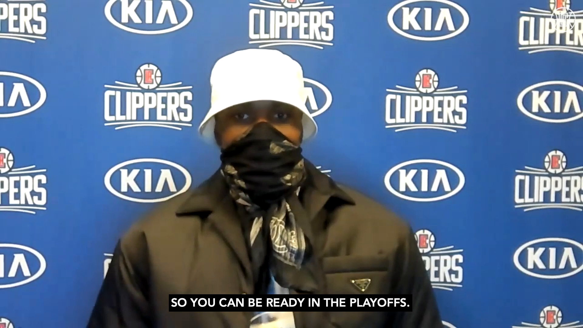 Ibaka on the Second Half of the Season | Clippers vs Warriors (3.11.21)