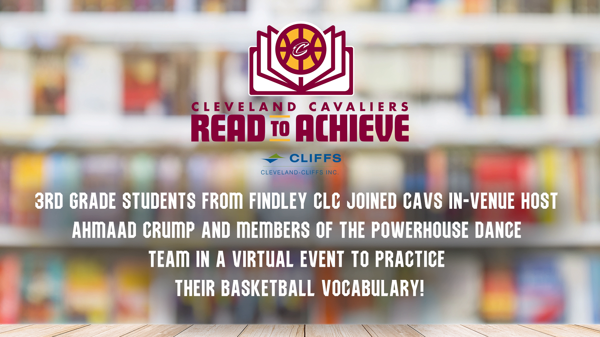 Cavs Read to Achieve Virtual Event