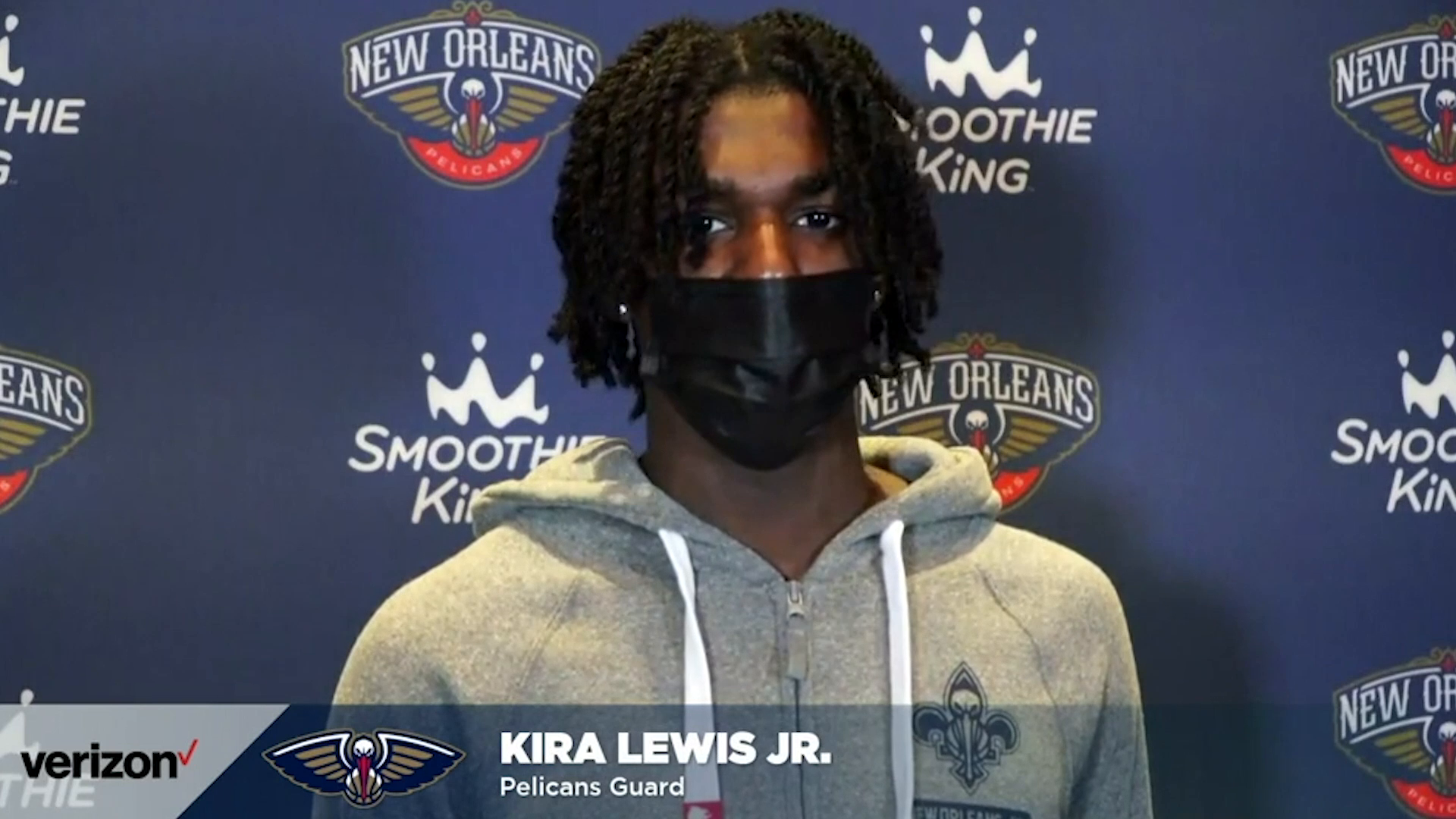 Pelicans-Clippers Postgame Interview: Kira Lewis Jr. 3-14-21