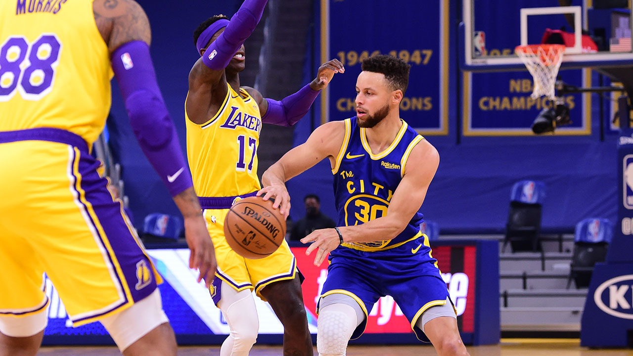 Verizon Game Rewind: Curry Becomes Franchise's All-Time Leader in Assists in Loss to Lakers
