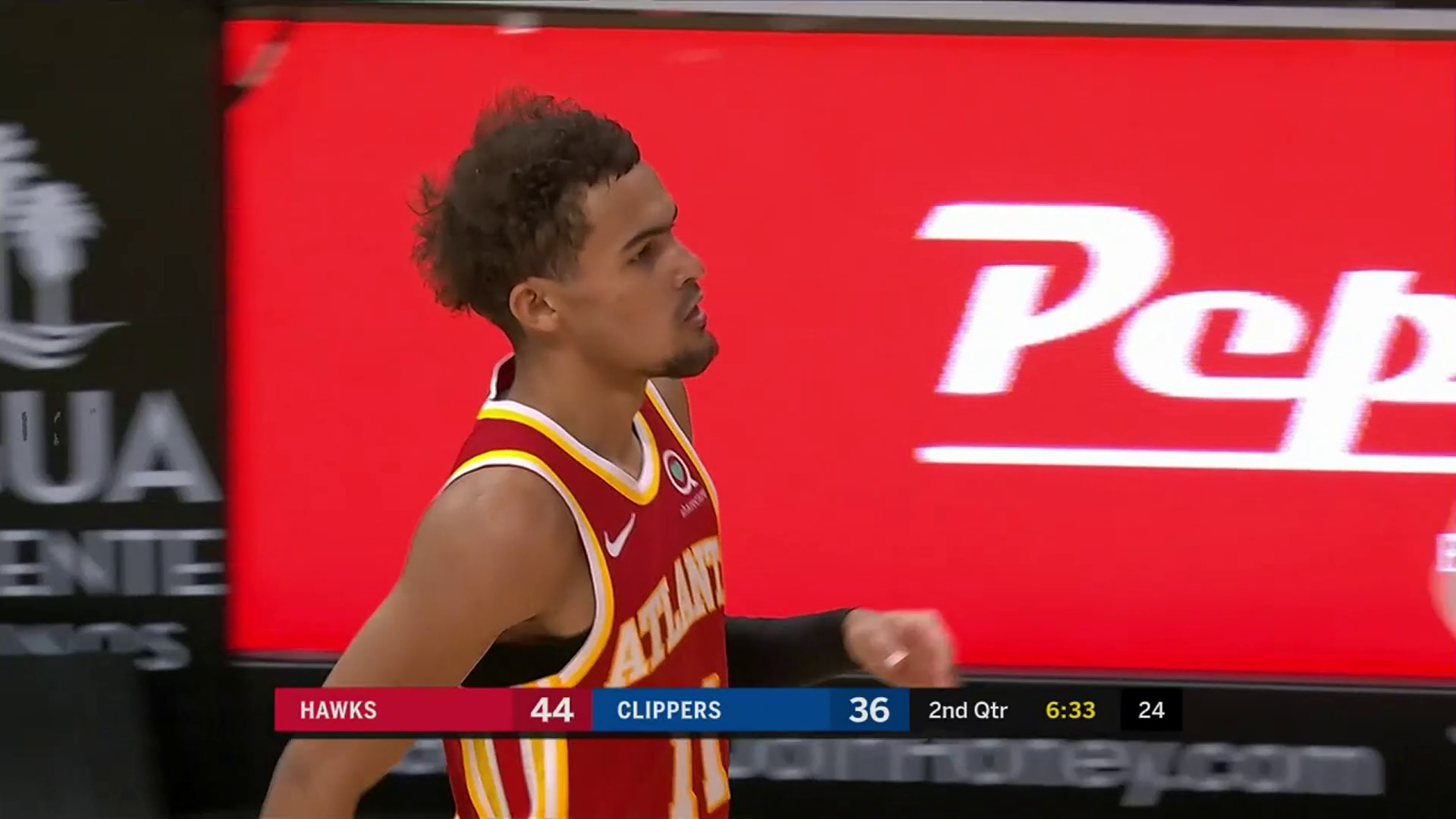 Young Notches 28 Points, 8 Assists vs. Clippers
