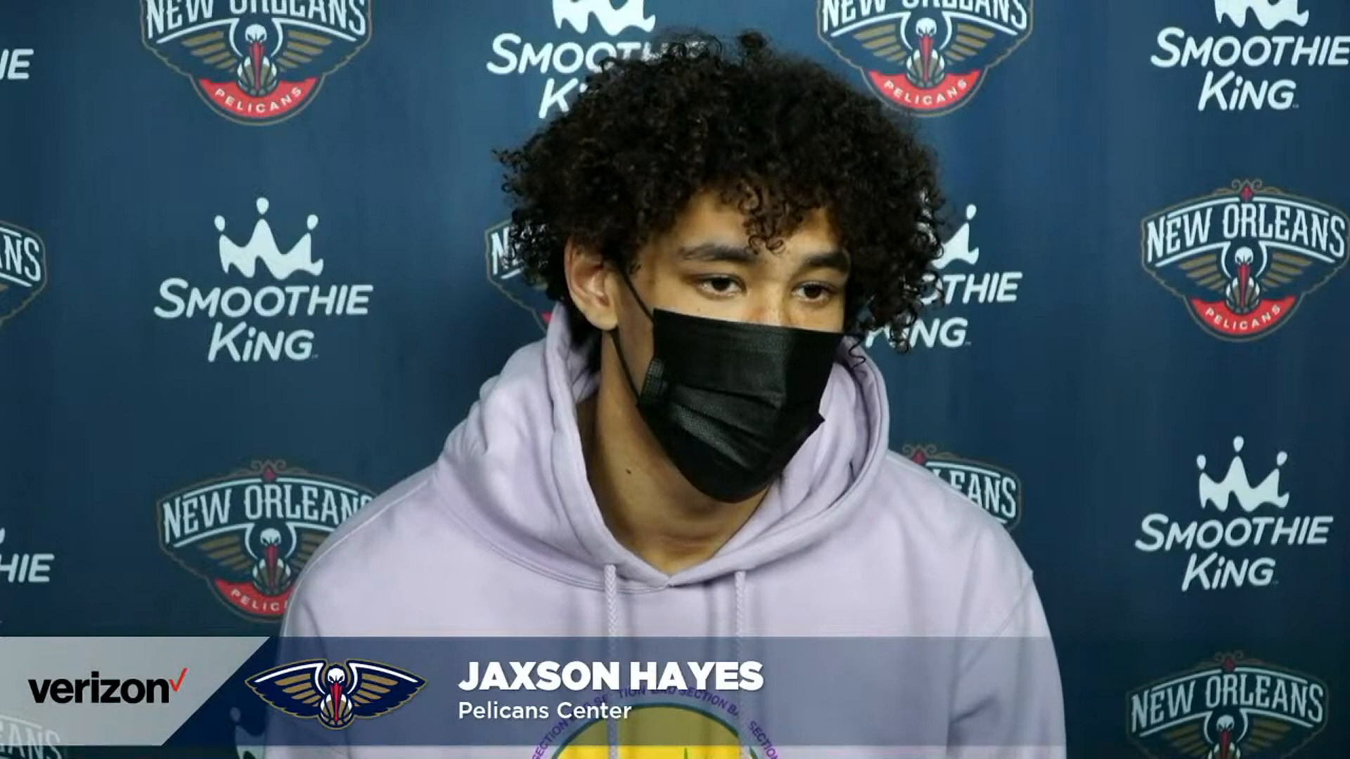 Jaxson Hayes on improving and staying motivated throughout the season   Pelicans Post-Practice 3/25/21