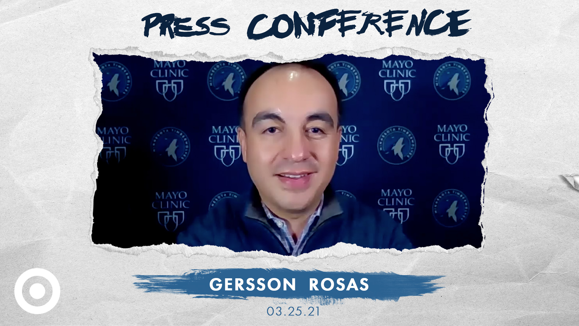 Gersson Rosas Trade Deadline Press Conference - March 25, 2021