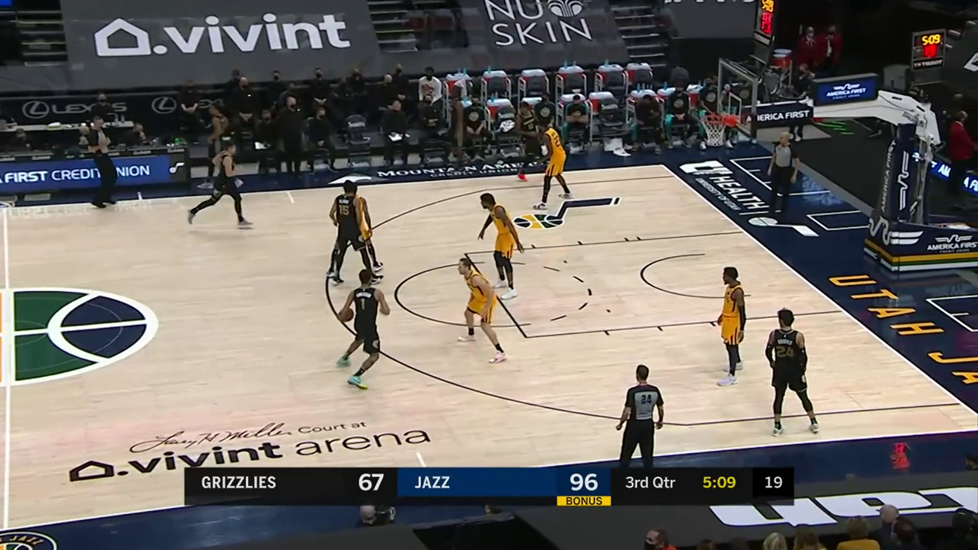 Kyle Anderson 16 points @ Jazz 3.27.21