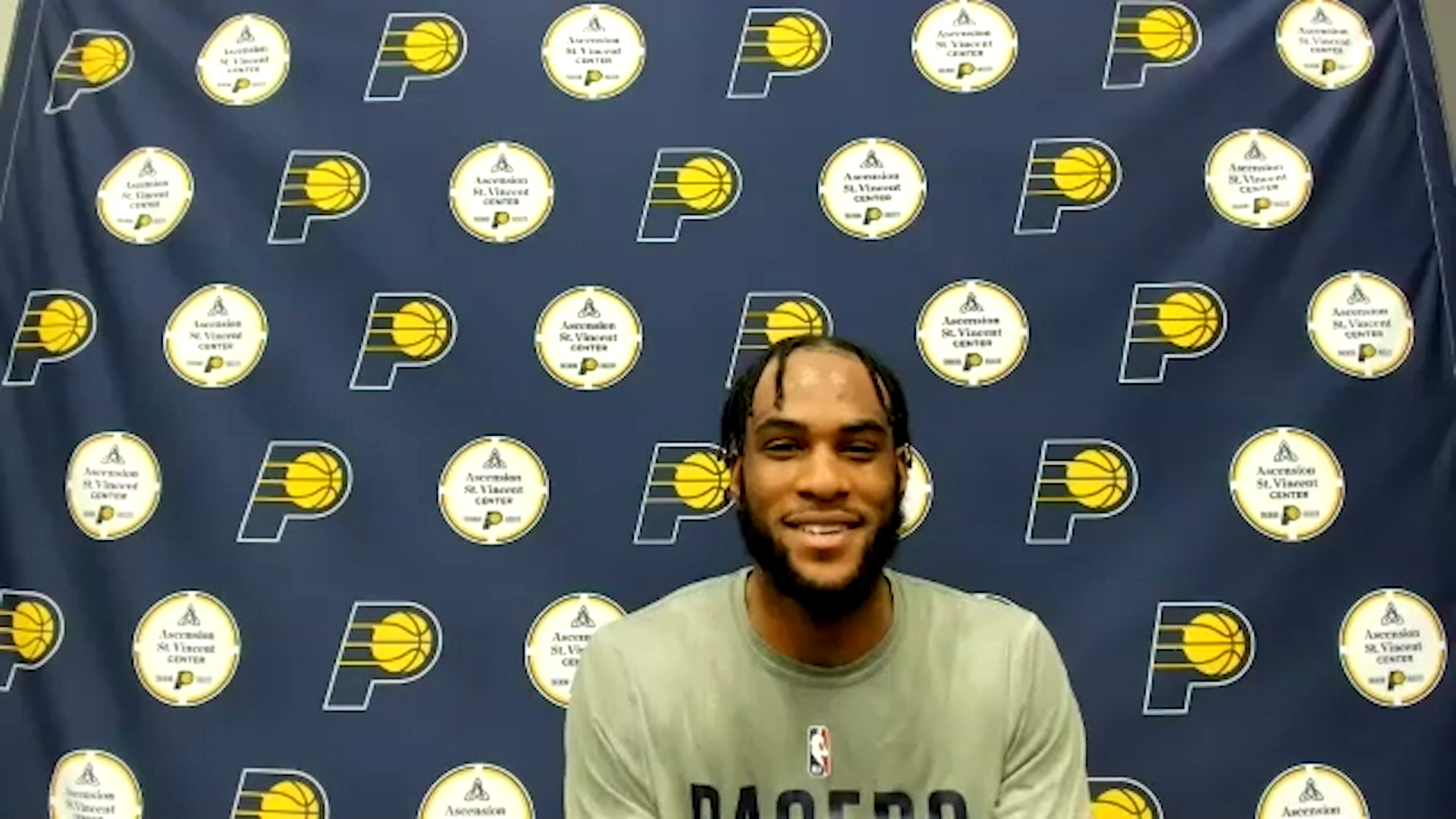 Oshae Brissett on Signing with Pacers