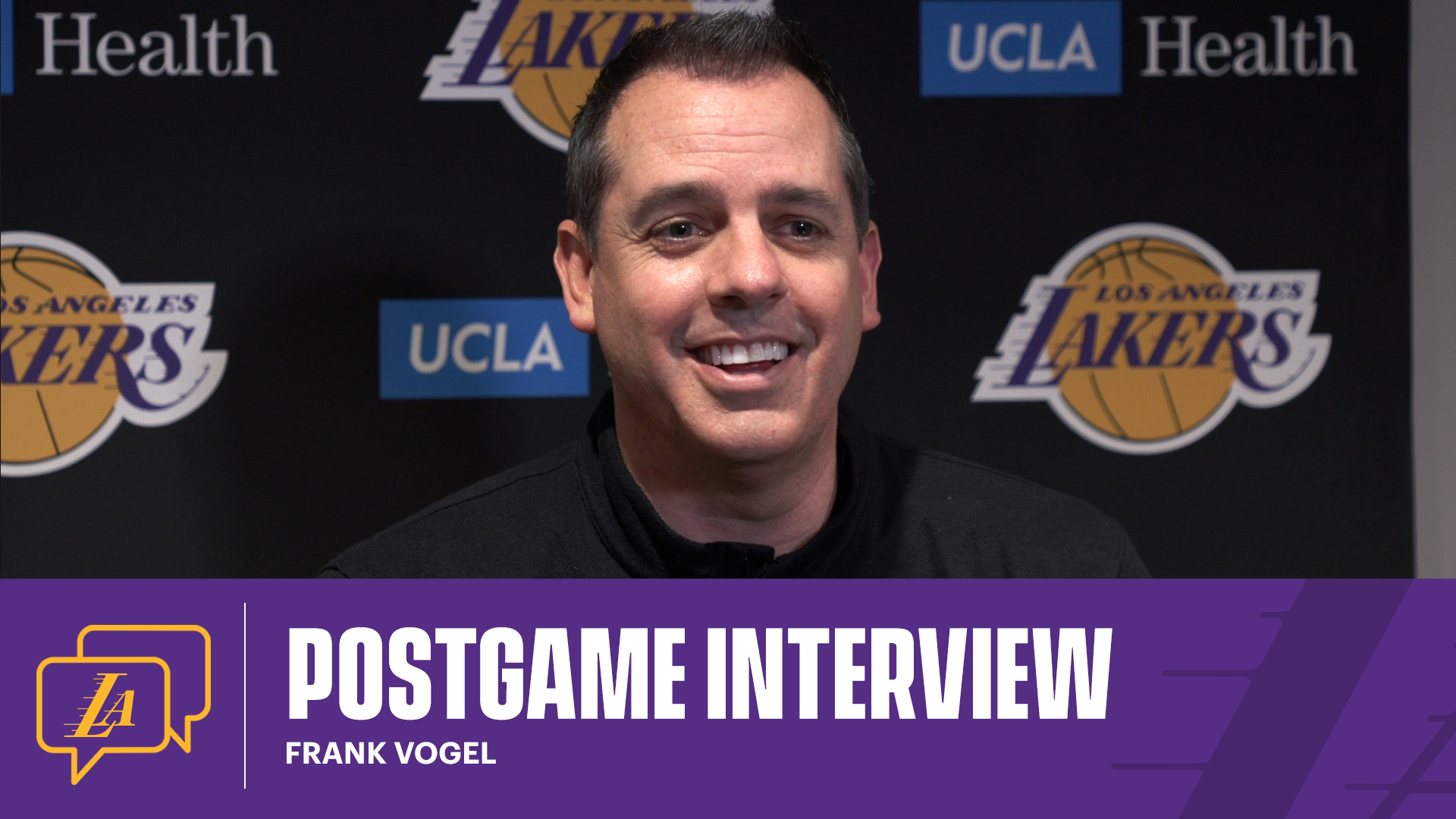 Lakers Postgame Report: Frank Vogel (4/2/21)